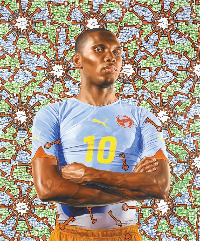 Samuel Eto'o – Kehinde Wiley.