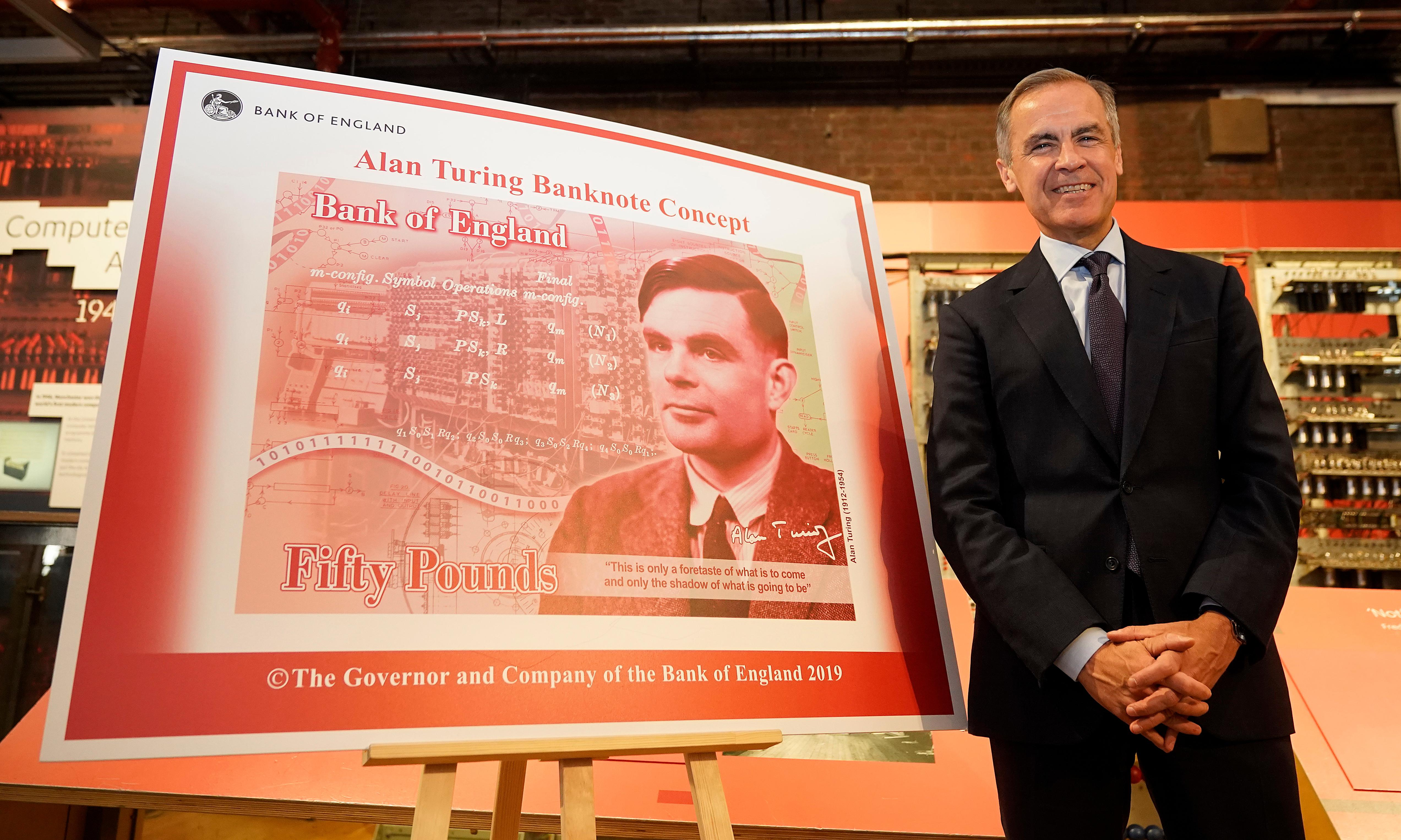 Alan Turing on the £50 note is a triumph for British science – and for equality