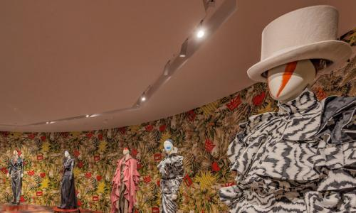 the Vivienne Westwood exhibition, Get a Life!, in Shanghai.