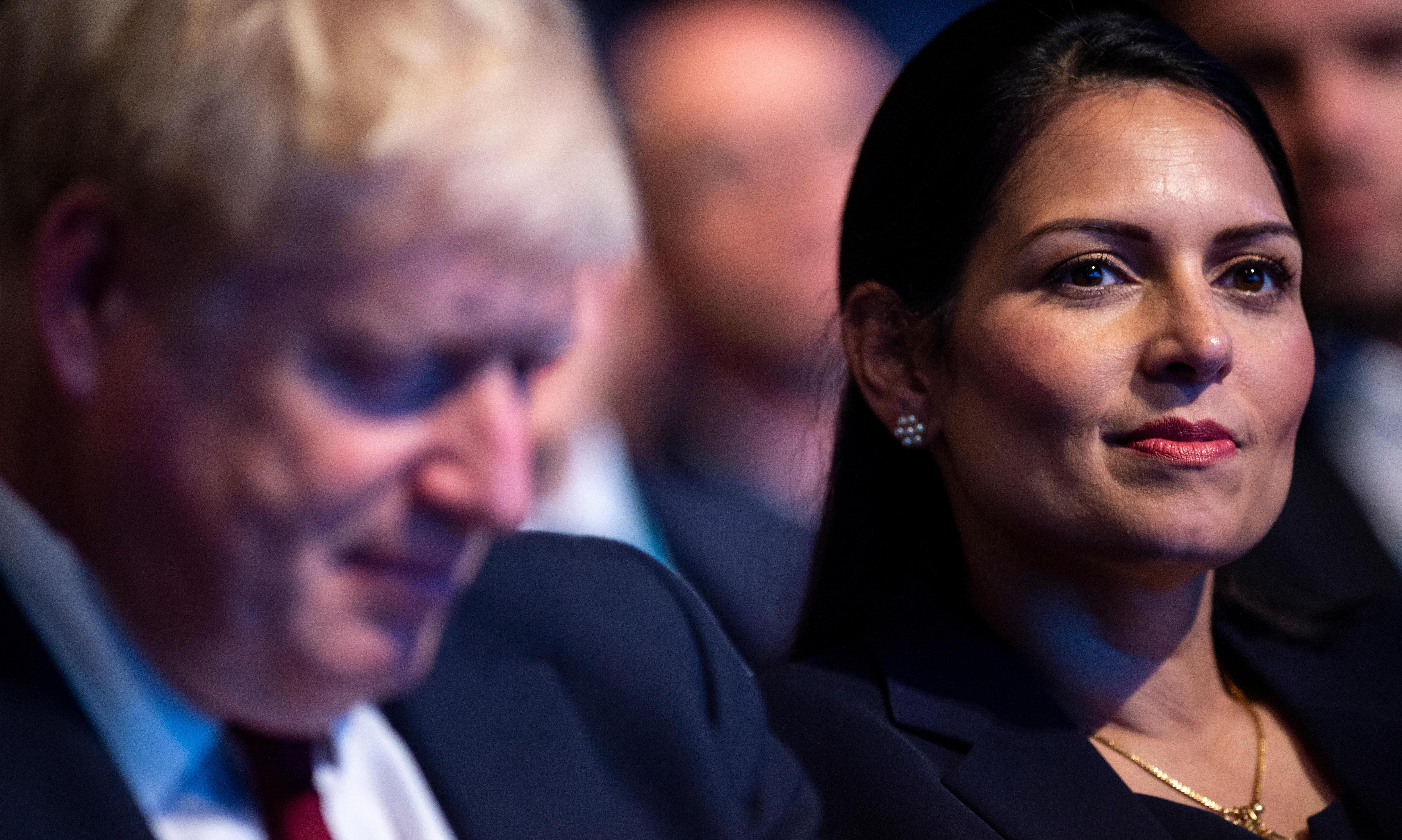 Priti Patel is out of her depth – and that is Boris Johnson's fault