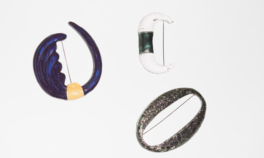 Toga brooches for The Fashion AW 2019