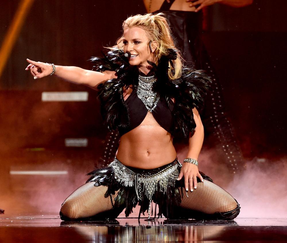 Spears in Las Vegas in 2016.