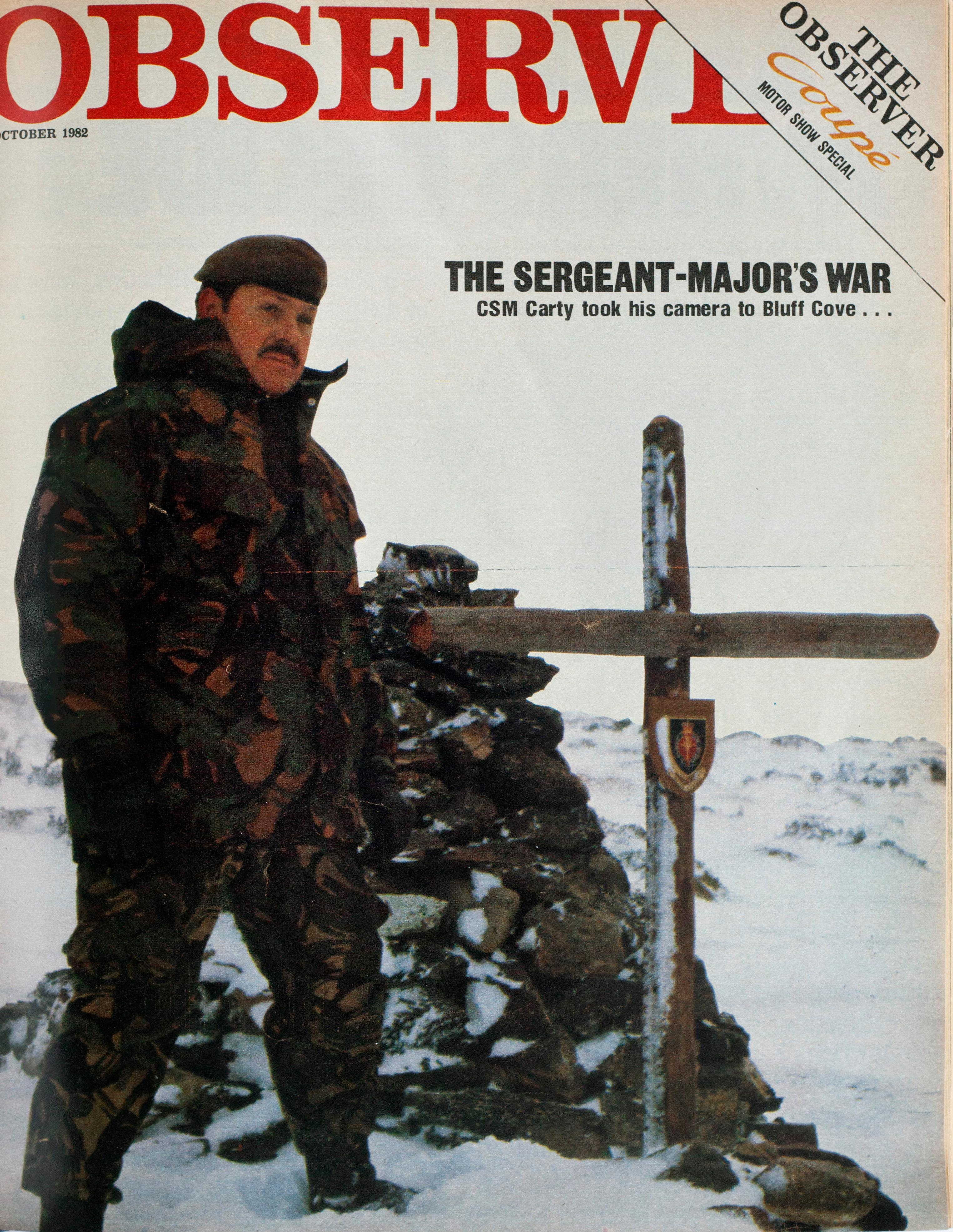 From the archive: a soldier's eye view of the Falkland's war