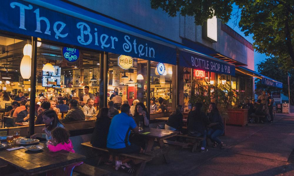 The Bier Stein, Eugene, Oregon