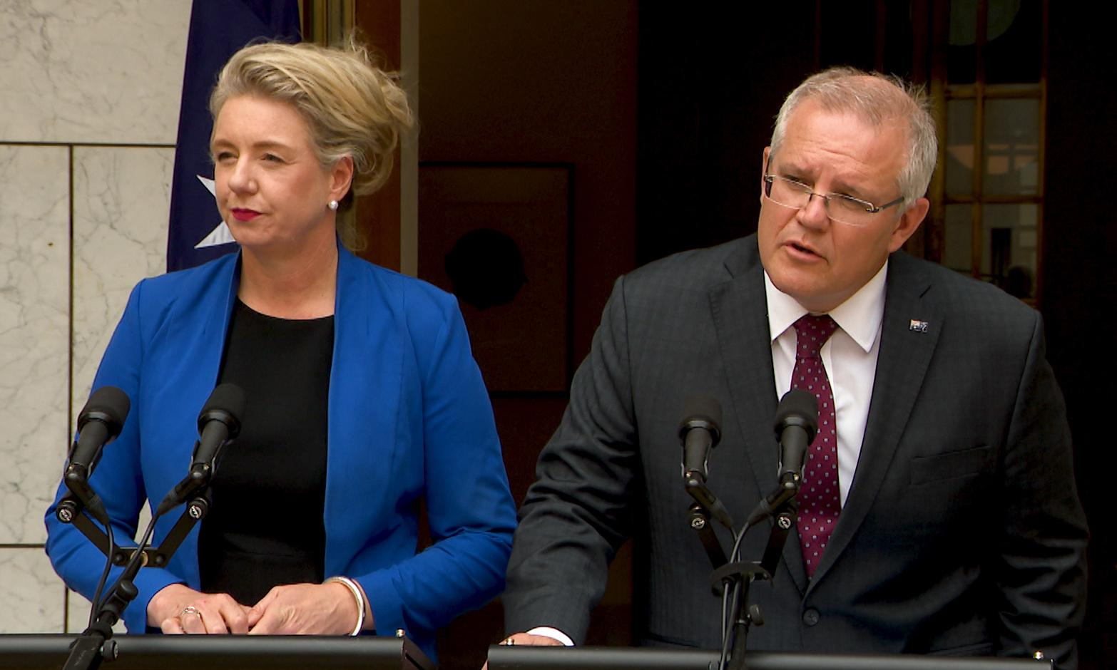 Scott Morrison backs Bridget McKenzie in sports grants scandal and will 'clarify' legal issues