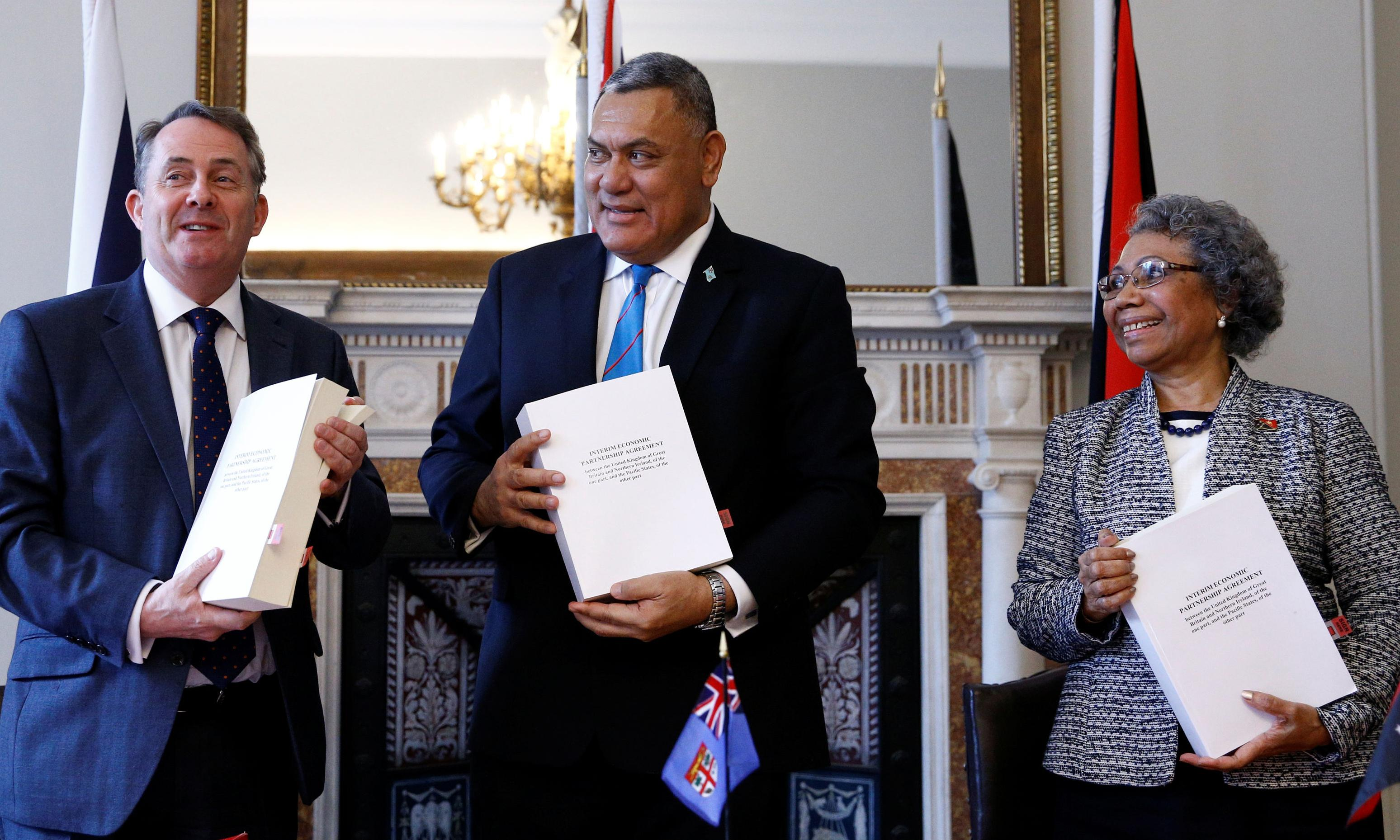 UK signs post-Brexit trade deal with Fiji and Papua New Guinea