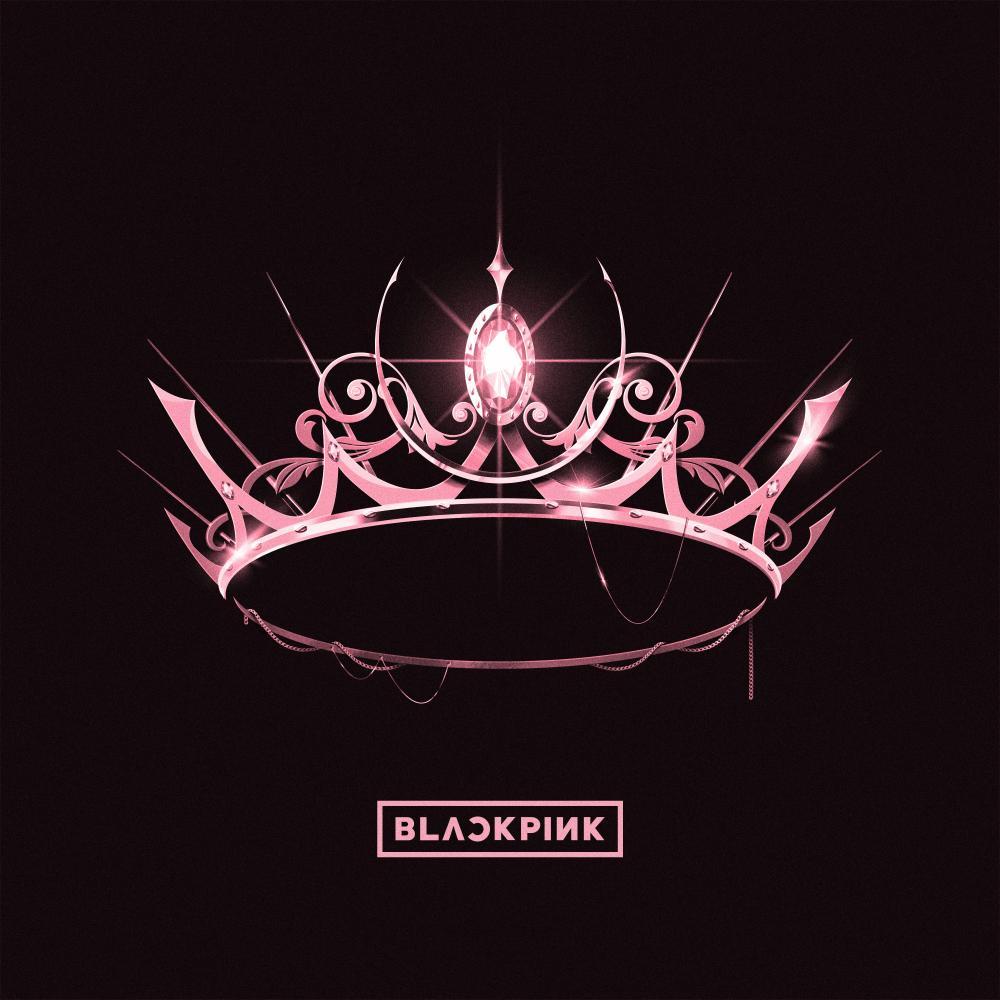Blackpink: The Album art work.