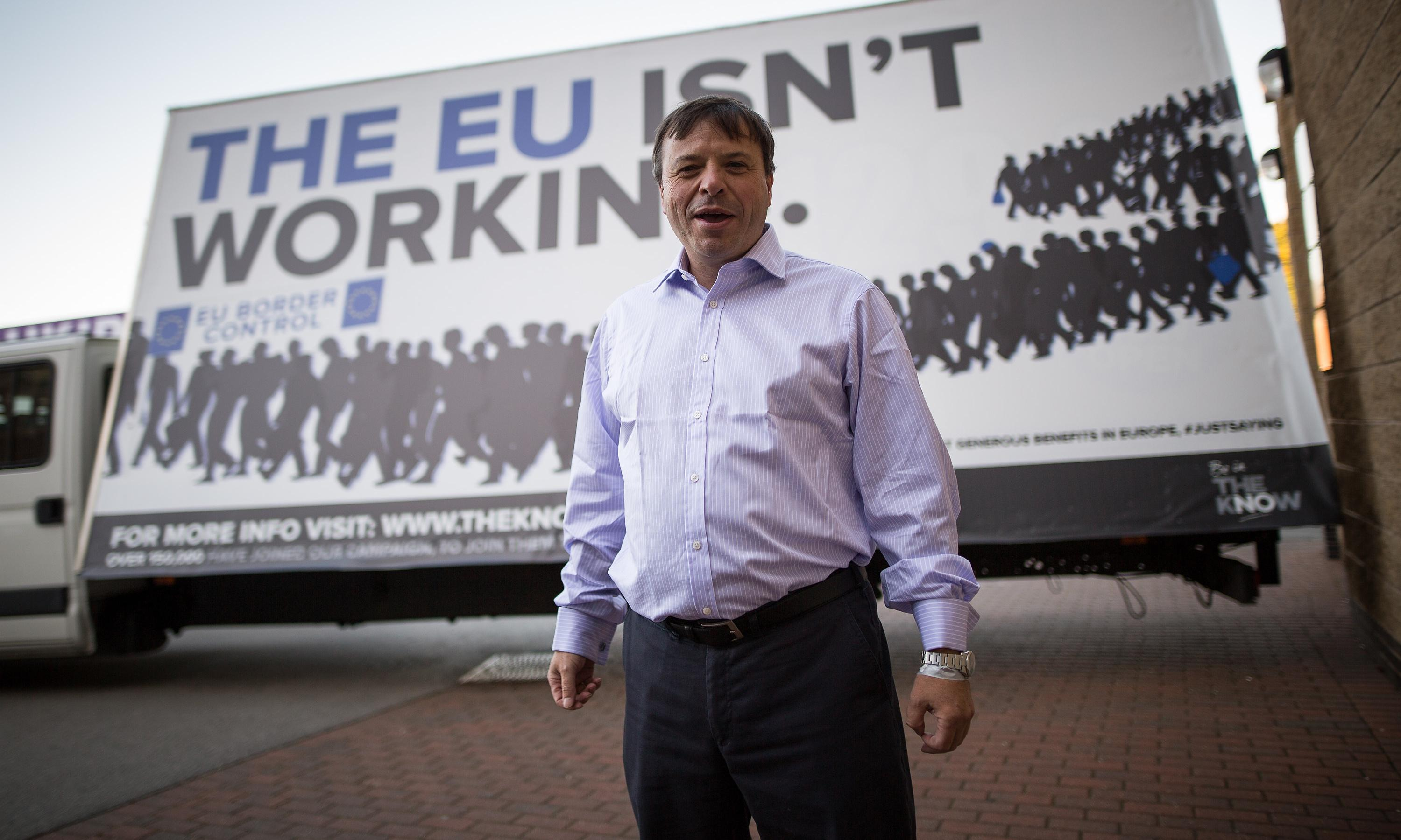 Arron Banks 'ignored deal to stop pro-Brexit ads' after Jo Cox death