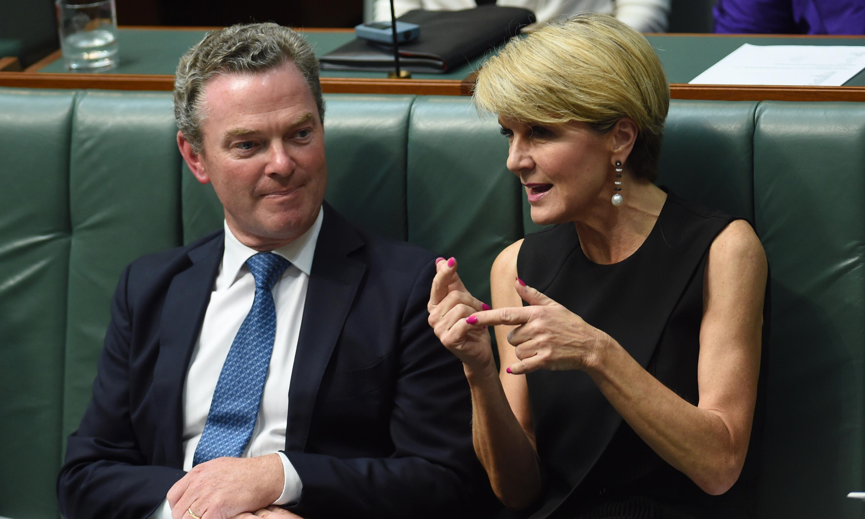 Pyne and Bishop's jobs set for Senate inquiry as Rex Patrick rejects explanation