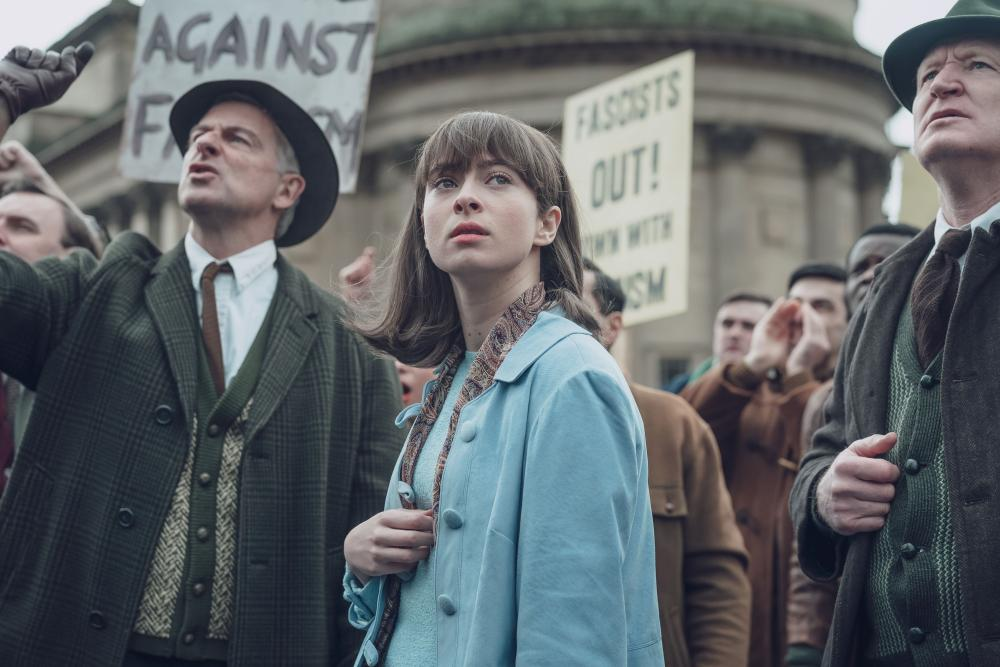 Newcomer Agnes O'Casey impresses in BBC drama Ridley Road.