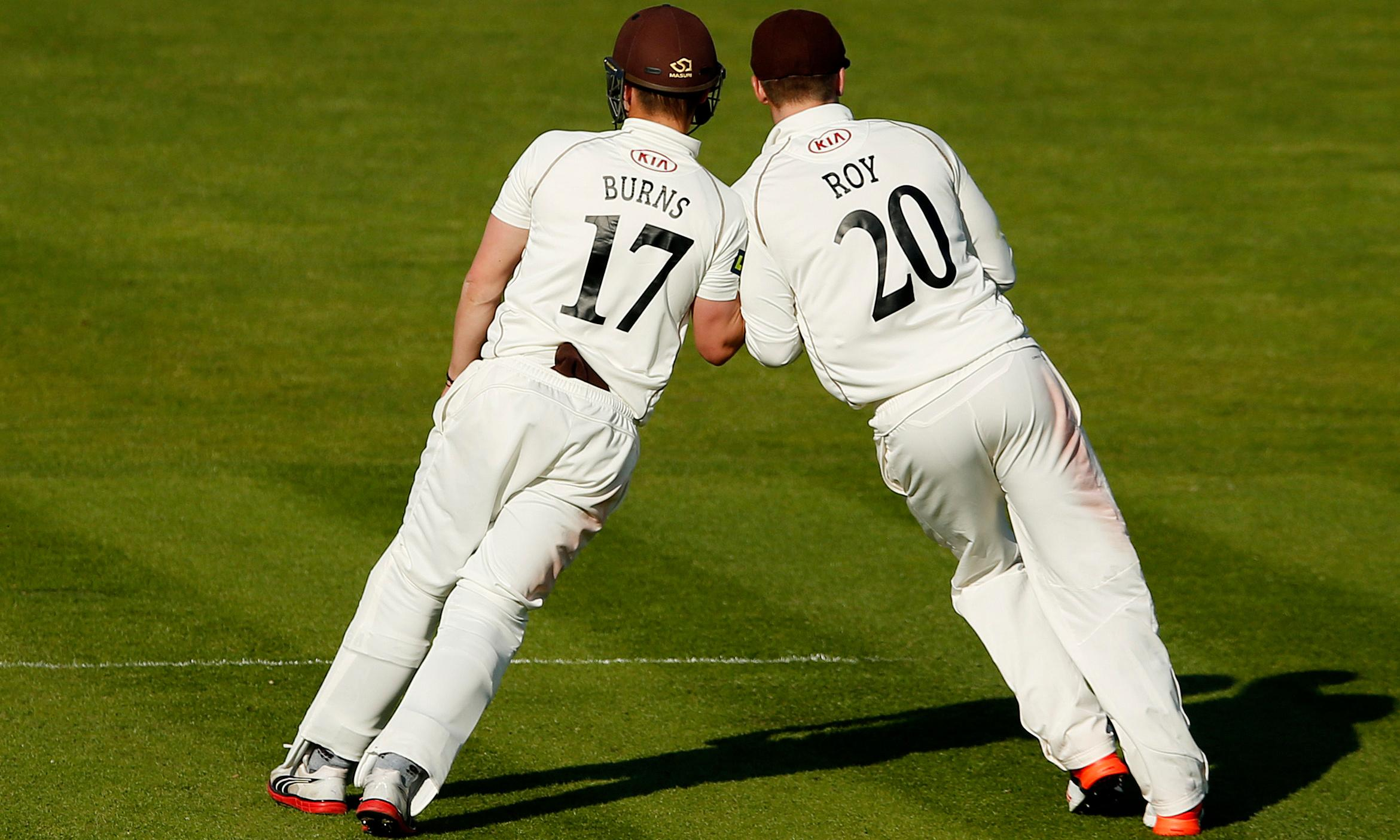 Old schoolfriends Rory Burns and Jason Roy relish a Test together