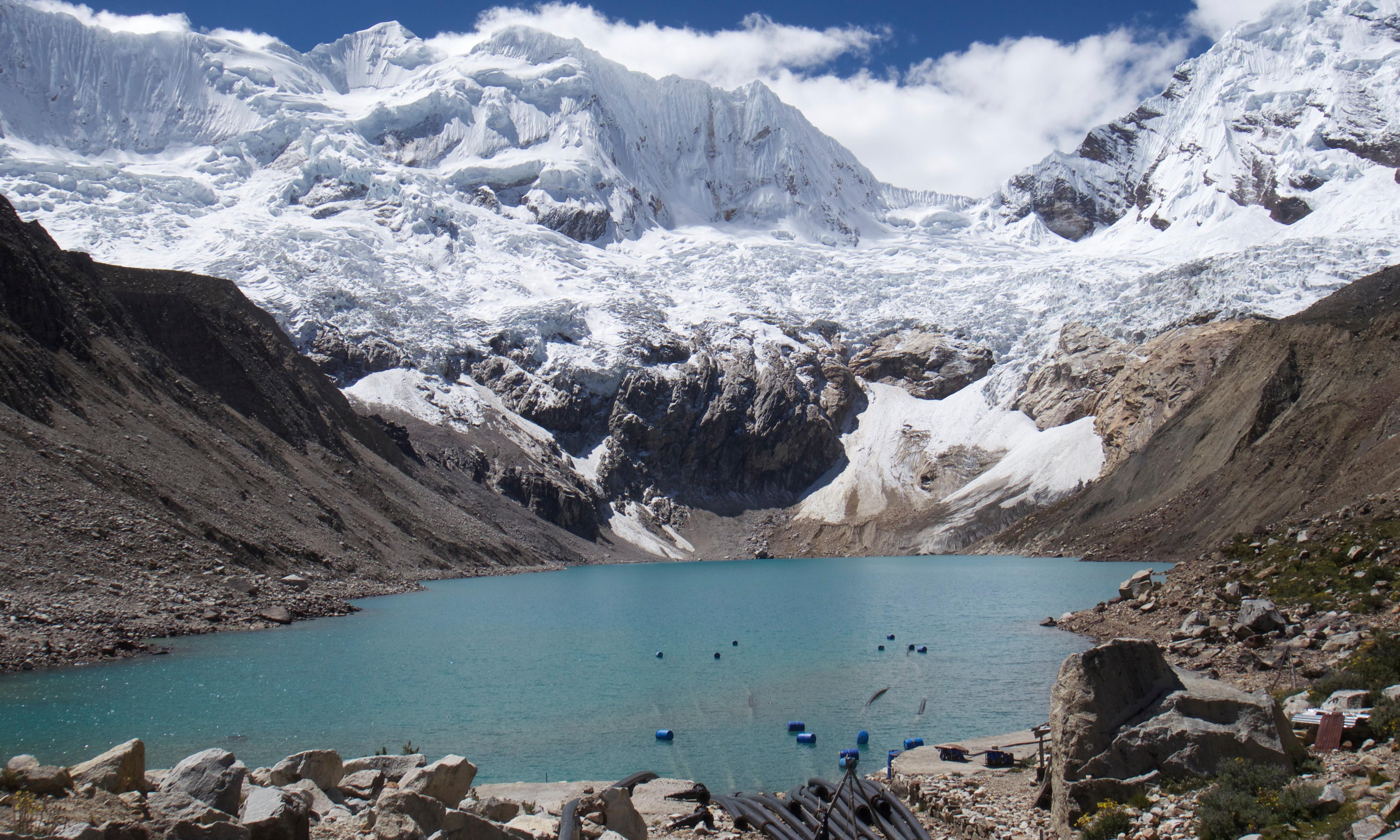 Climate change has turned Peru's glacial lake into a deadly flood timebomb