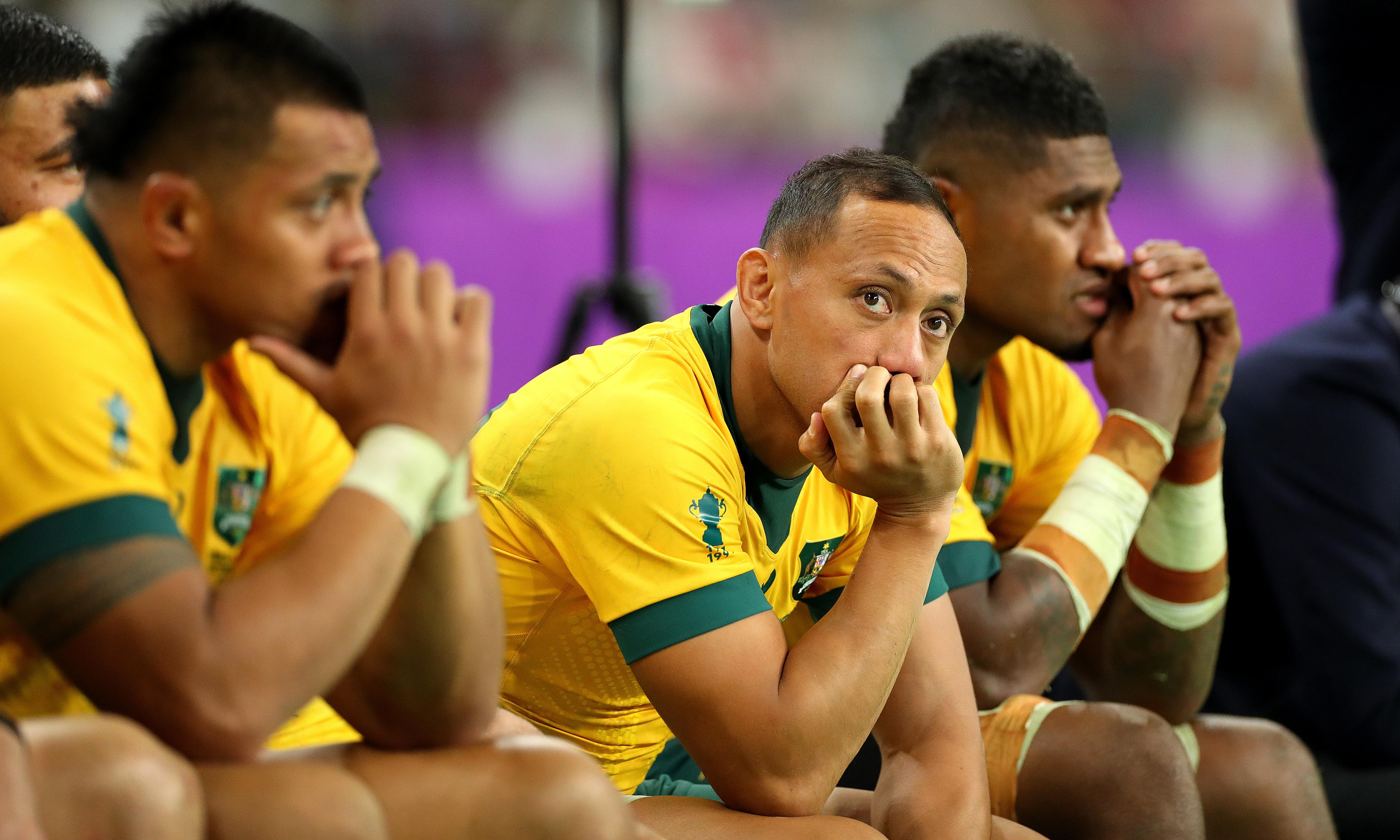 Australia's pain self-inflicted in Rugby World Cup loss to England