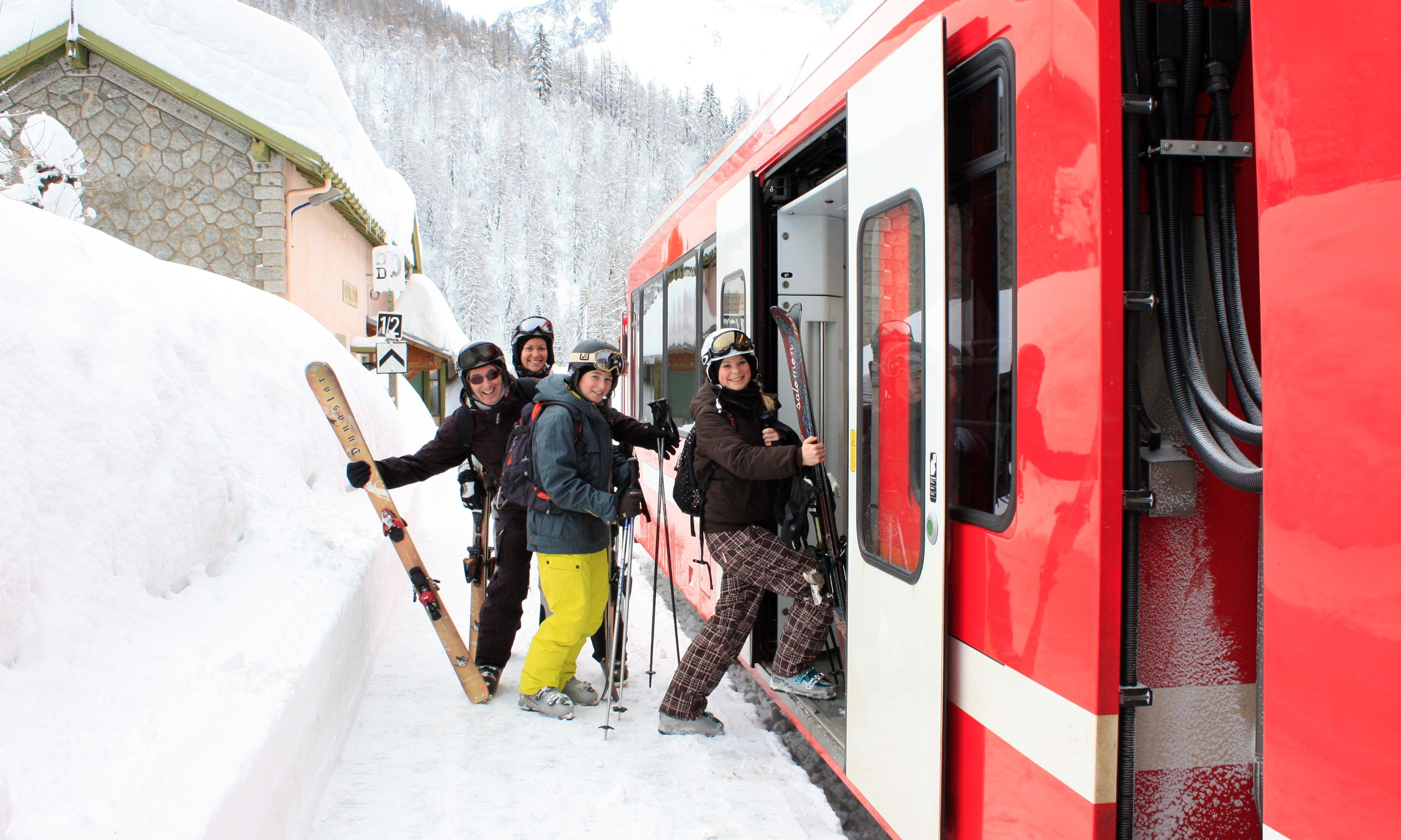 20 of the best Alps ski resorts by train