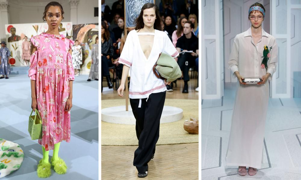The Shrimps, JW Anderson and Anya Hindmarch shows at London fashion week.