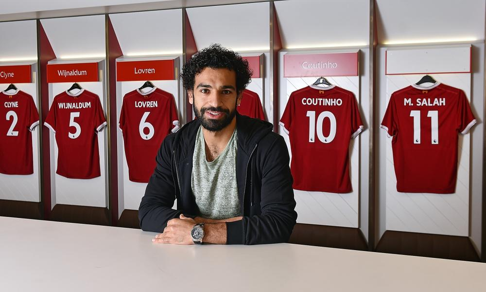 Mohamed Salah has joined Liverpool for a club record £36.9m, eclipsing the £35m they paid for Andy Carroll.