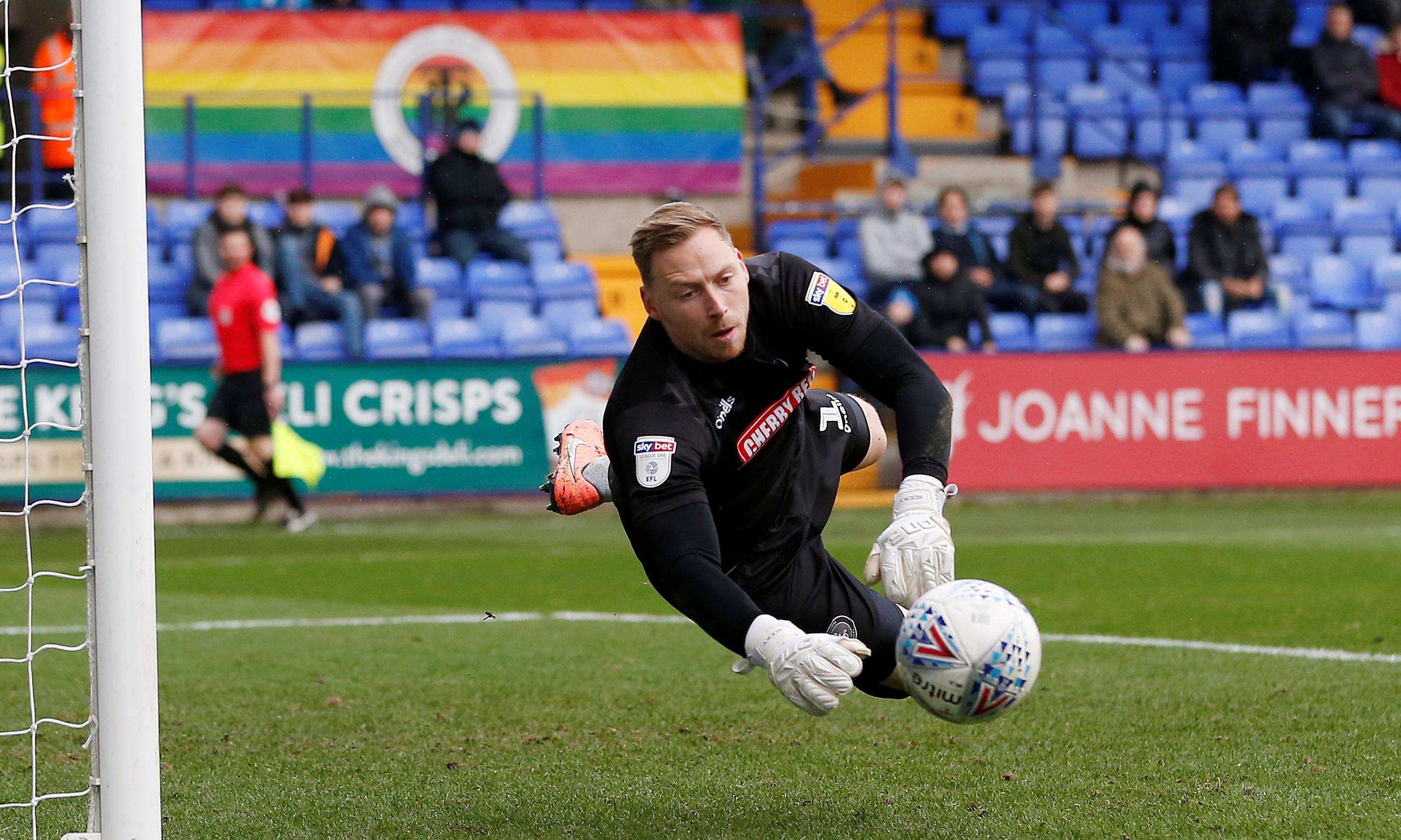 Man arrested after Wycombe goalkeeper alleges he was target of homophobic abuse