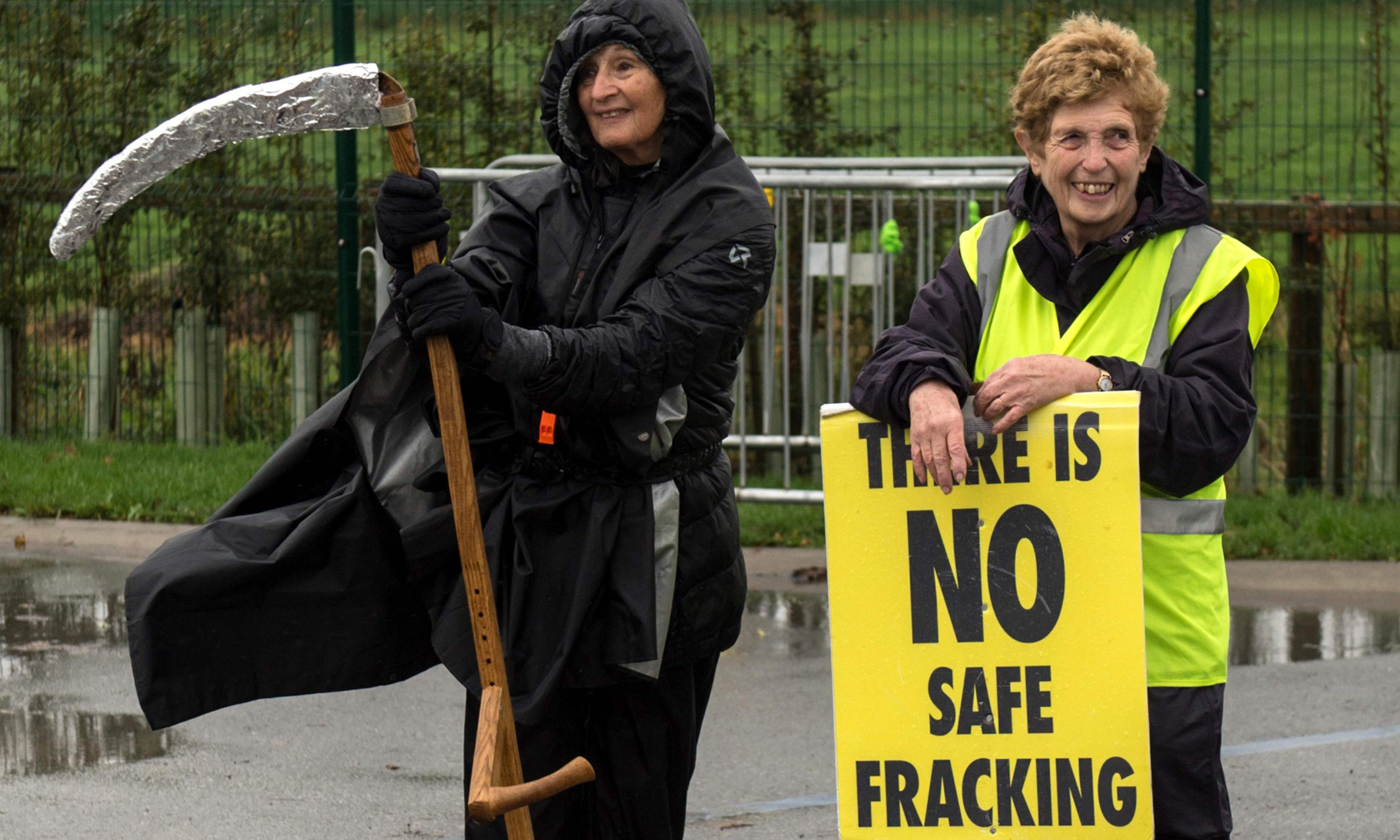 Activists warn of 'fracking by stealth' and call for acid fracking ban