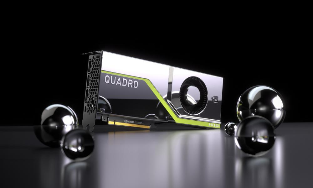 Nvidia Quadro workstation graphics card