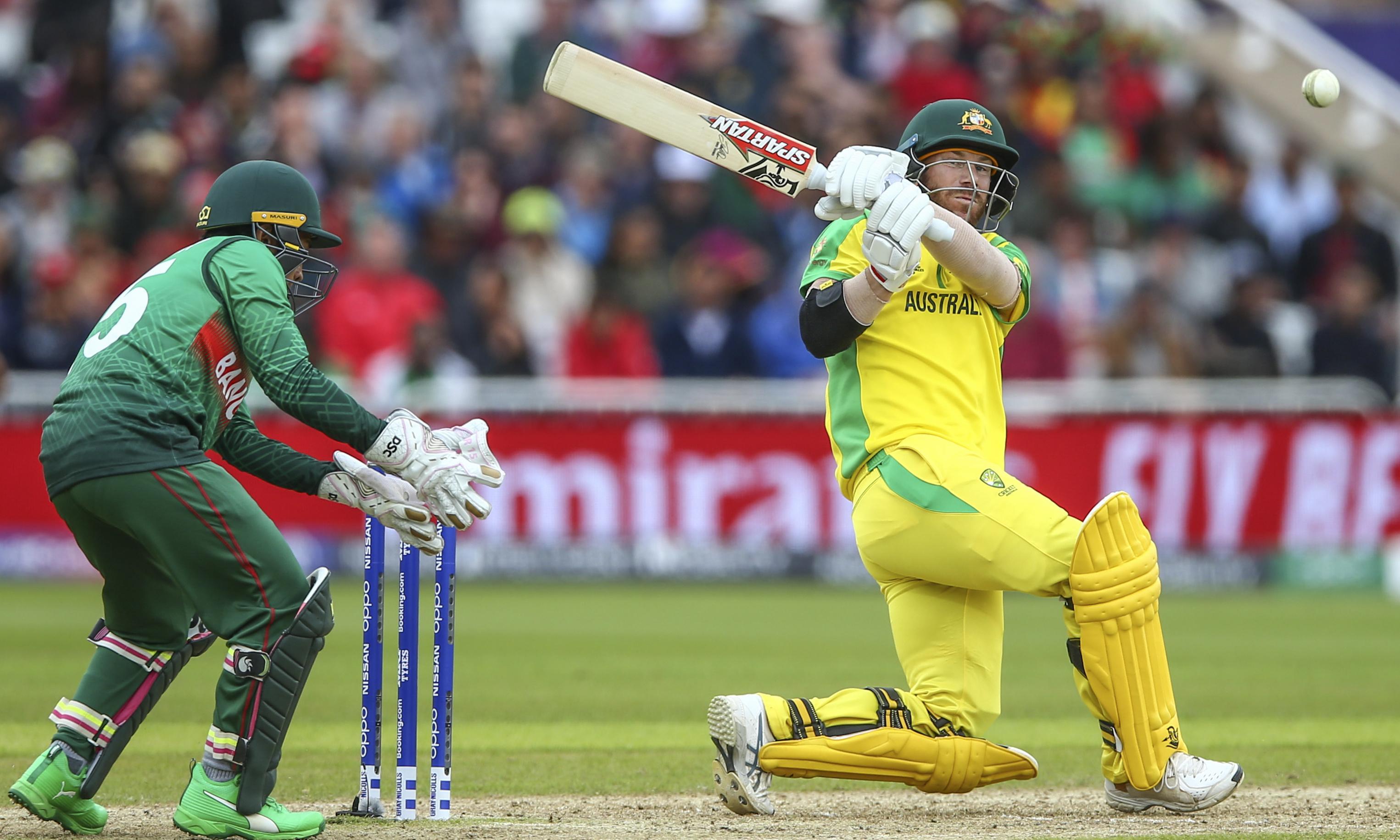 David Warner begins to find accelerator as Australia outgun Bangladesh