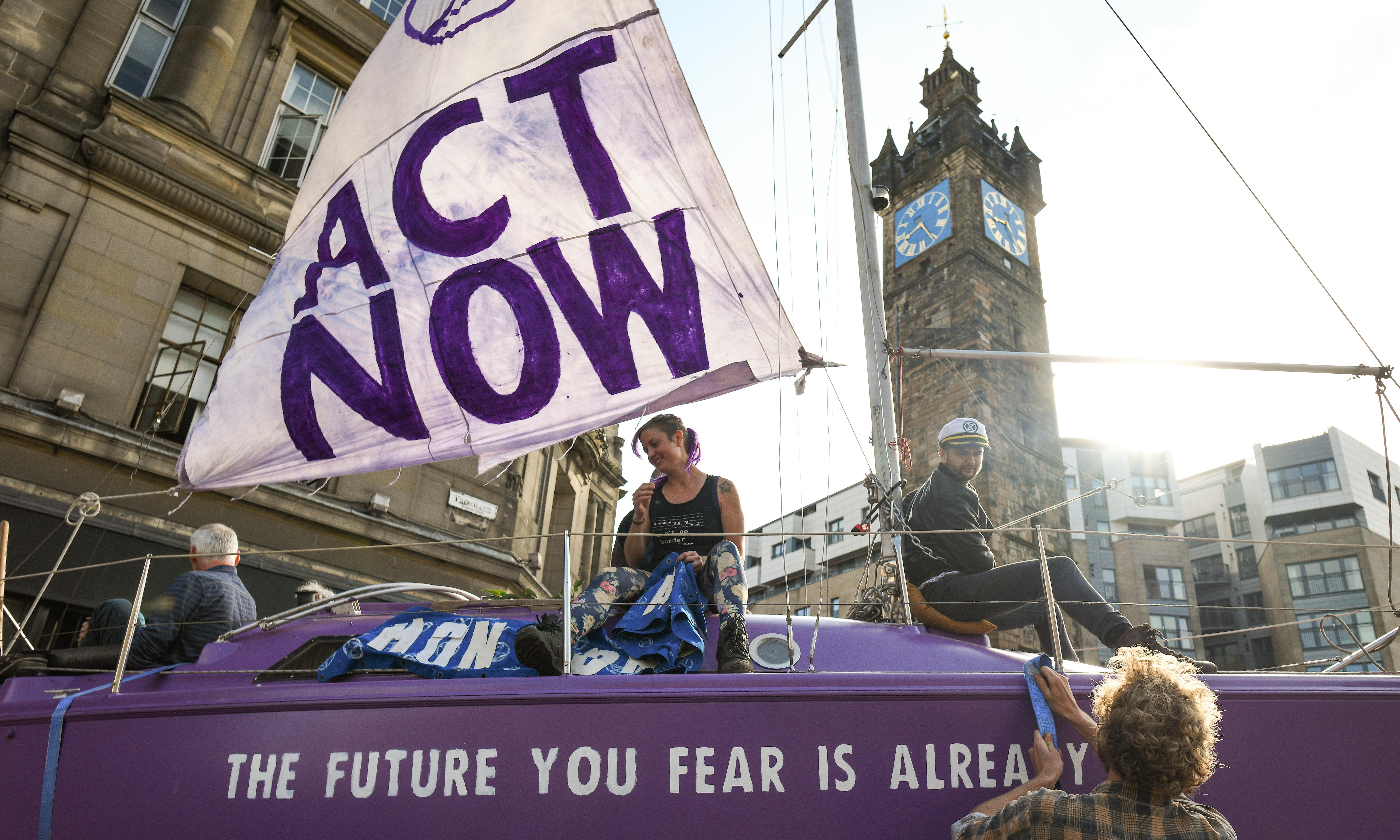 Extinction Rebellion protests block traffic in five UK cities