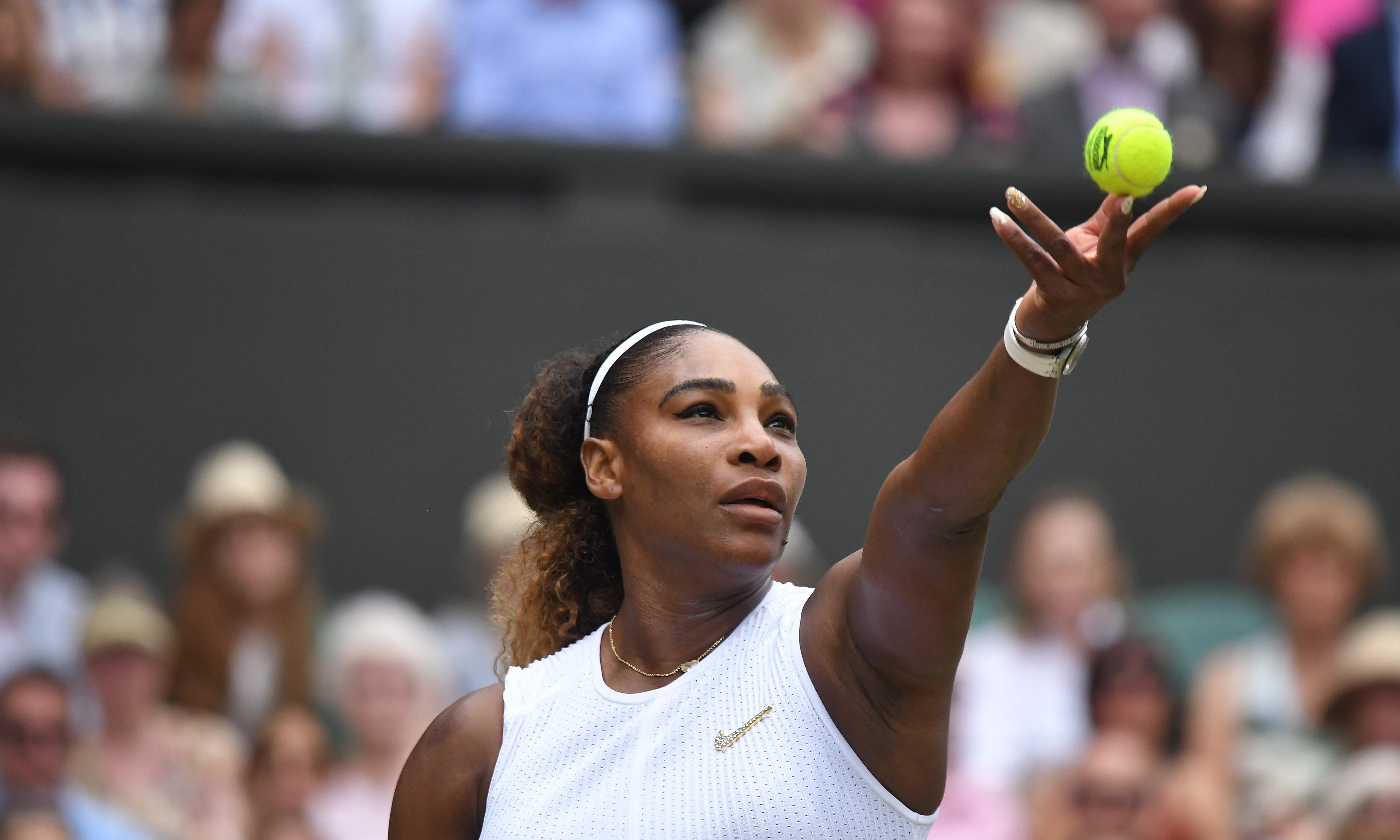 Why do so many men think they could win a point off Serena Williams?