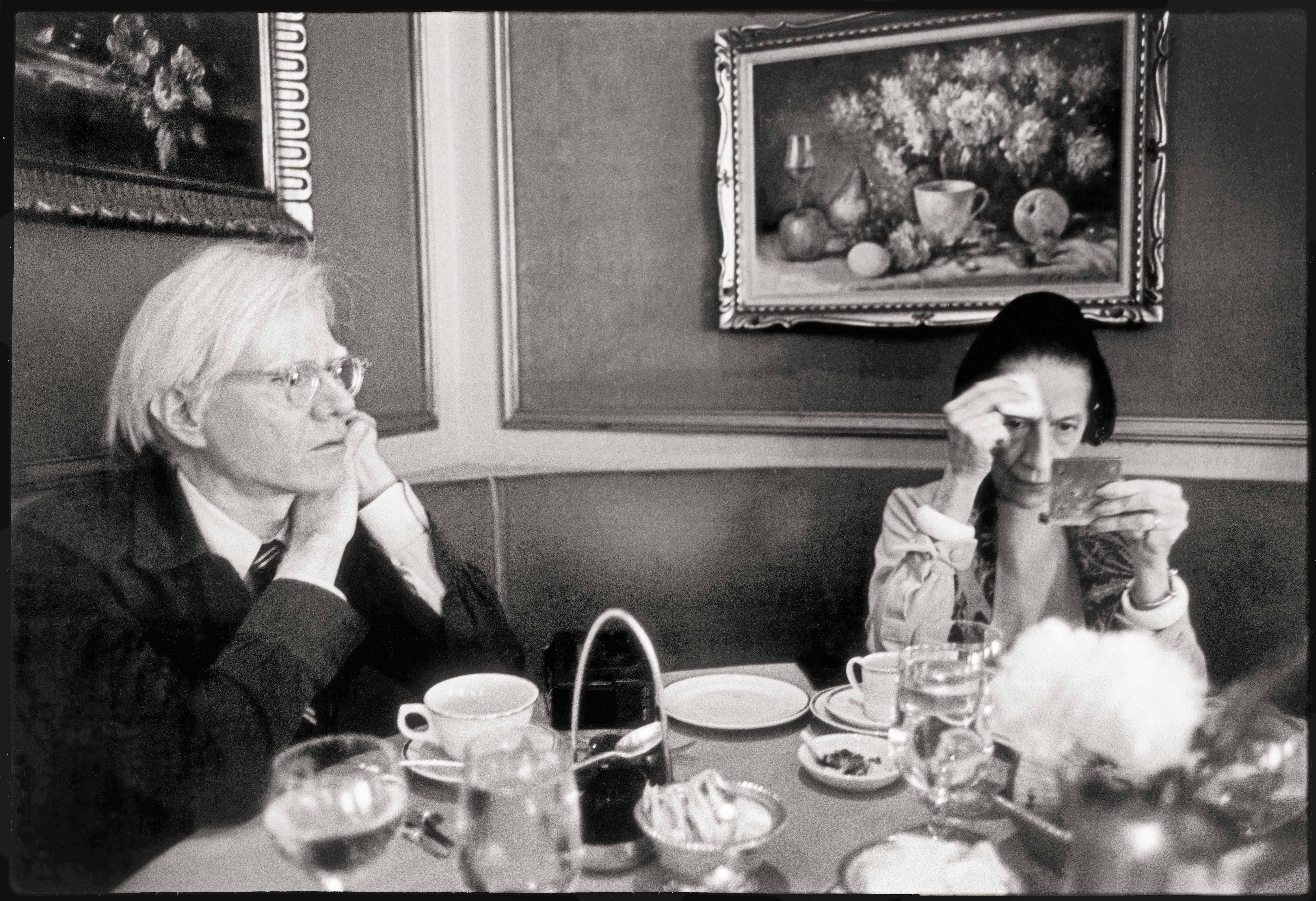The big picture: Andy Warhol and Diana Vreeland in New York in 1976