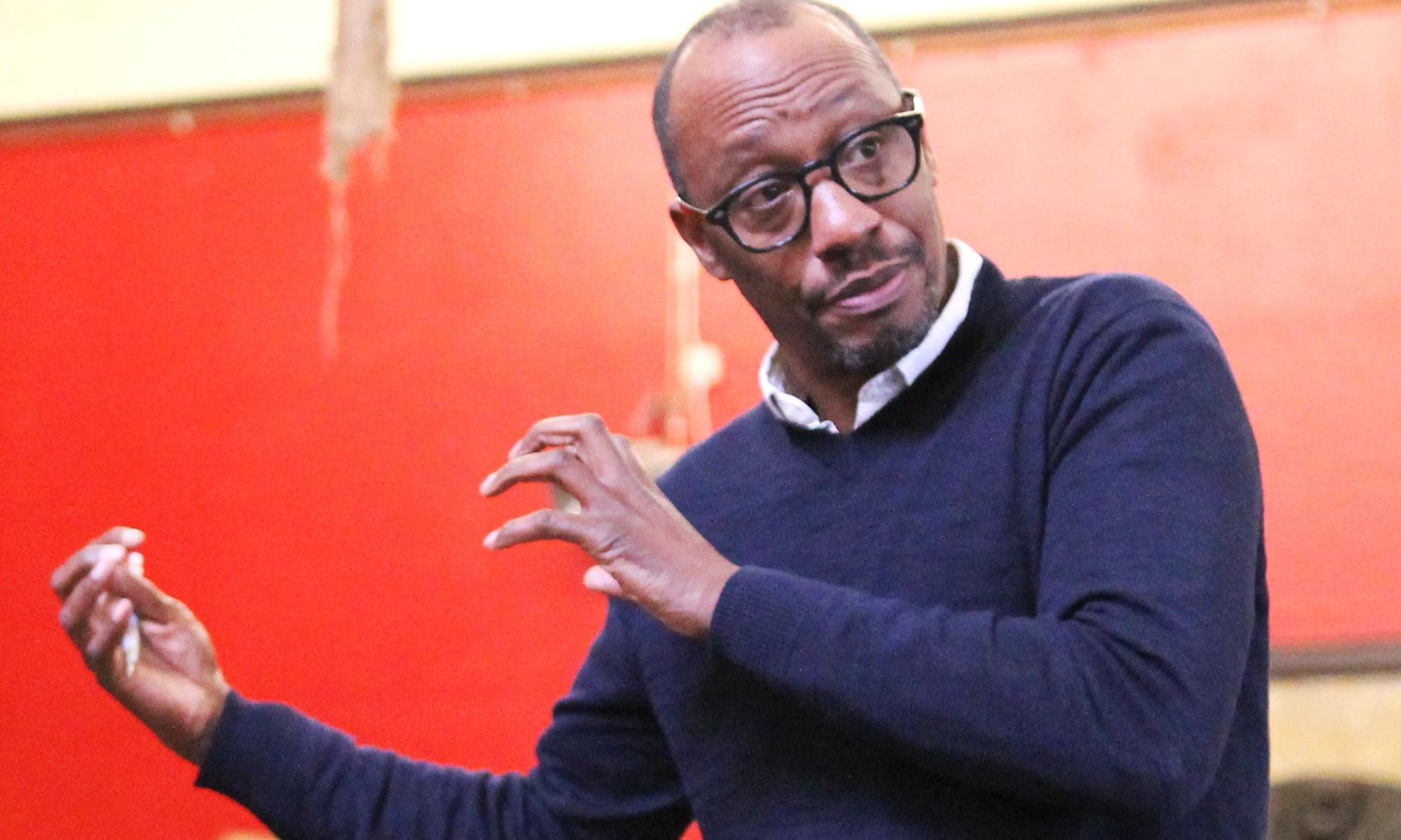 Head of Talawa theatre company criticises lack of diversity in arts