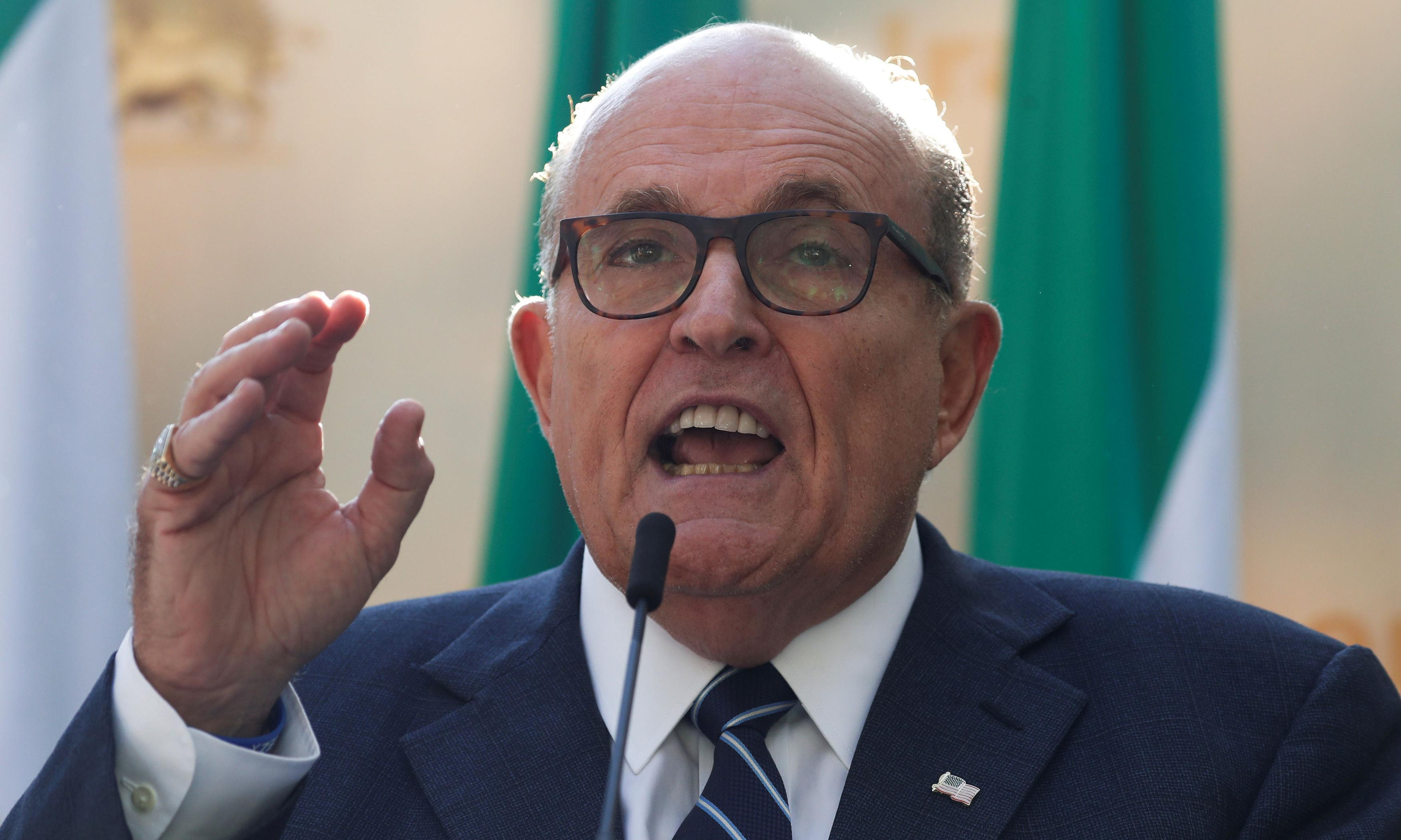 Giuliani offers bizarre explanation for 'misleading' claims about Clinton