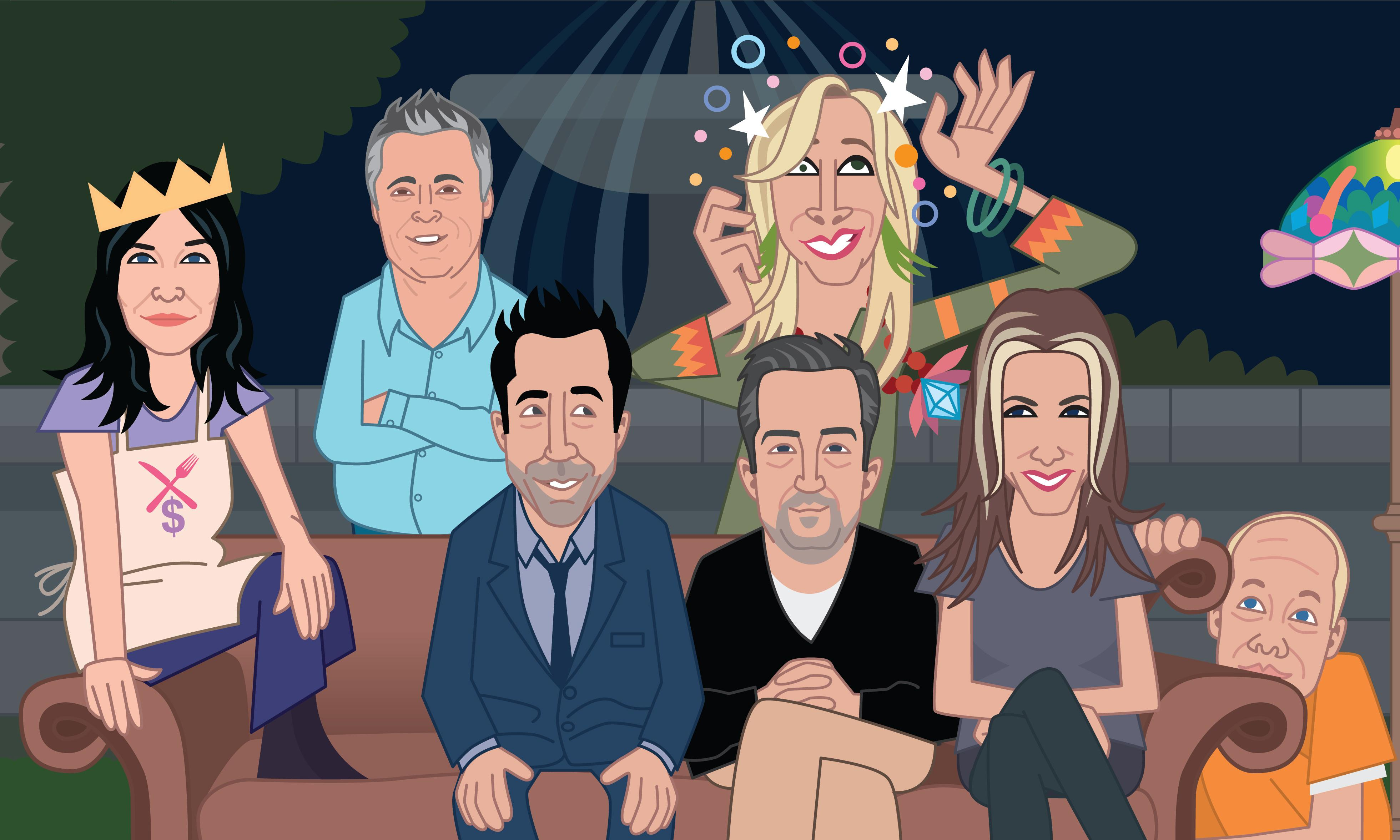 What could happen in the Friends reboot?