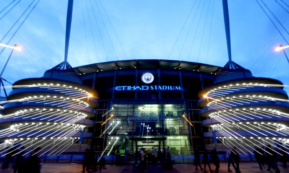 Questions were raised over Etihad's sponsorship of Manchester City.