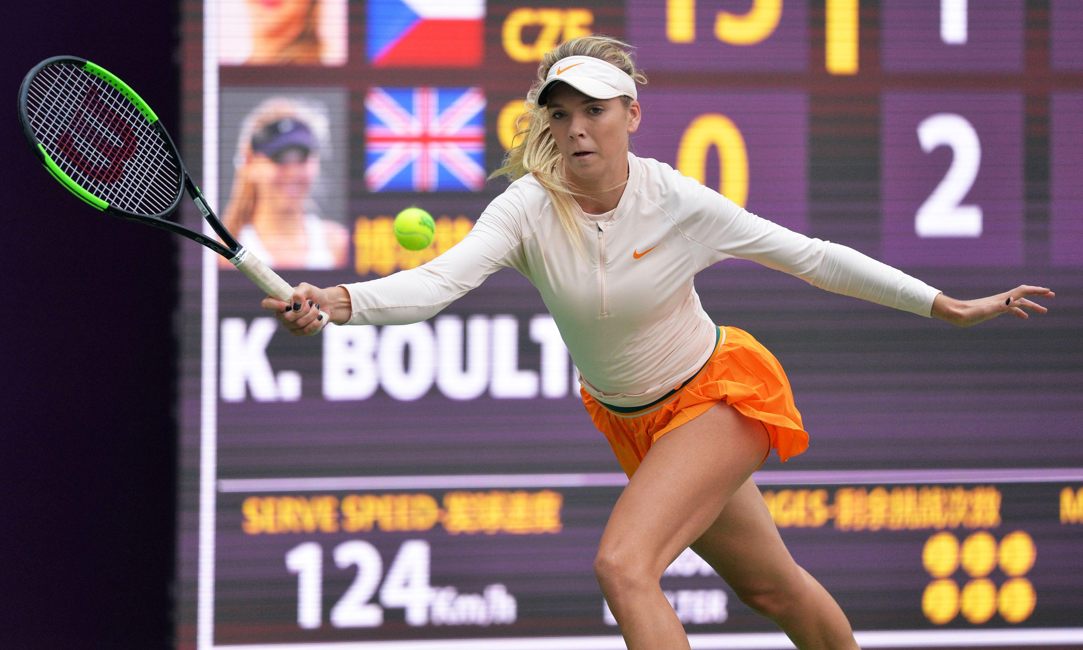 Katie Boulter and Kyle Edmund fall to defeats in China quarter-finals