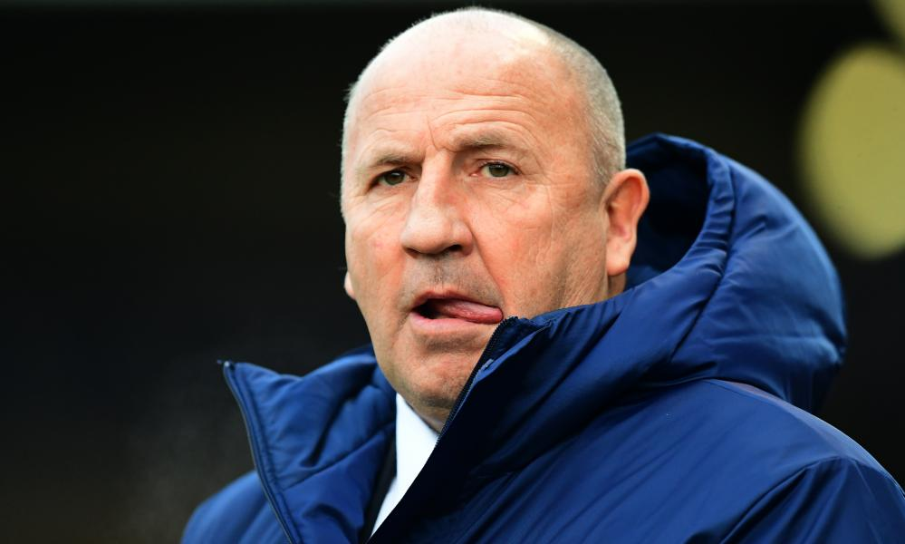 John Coleman is in his second spell as Accrington manager.