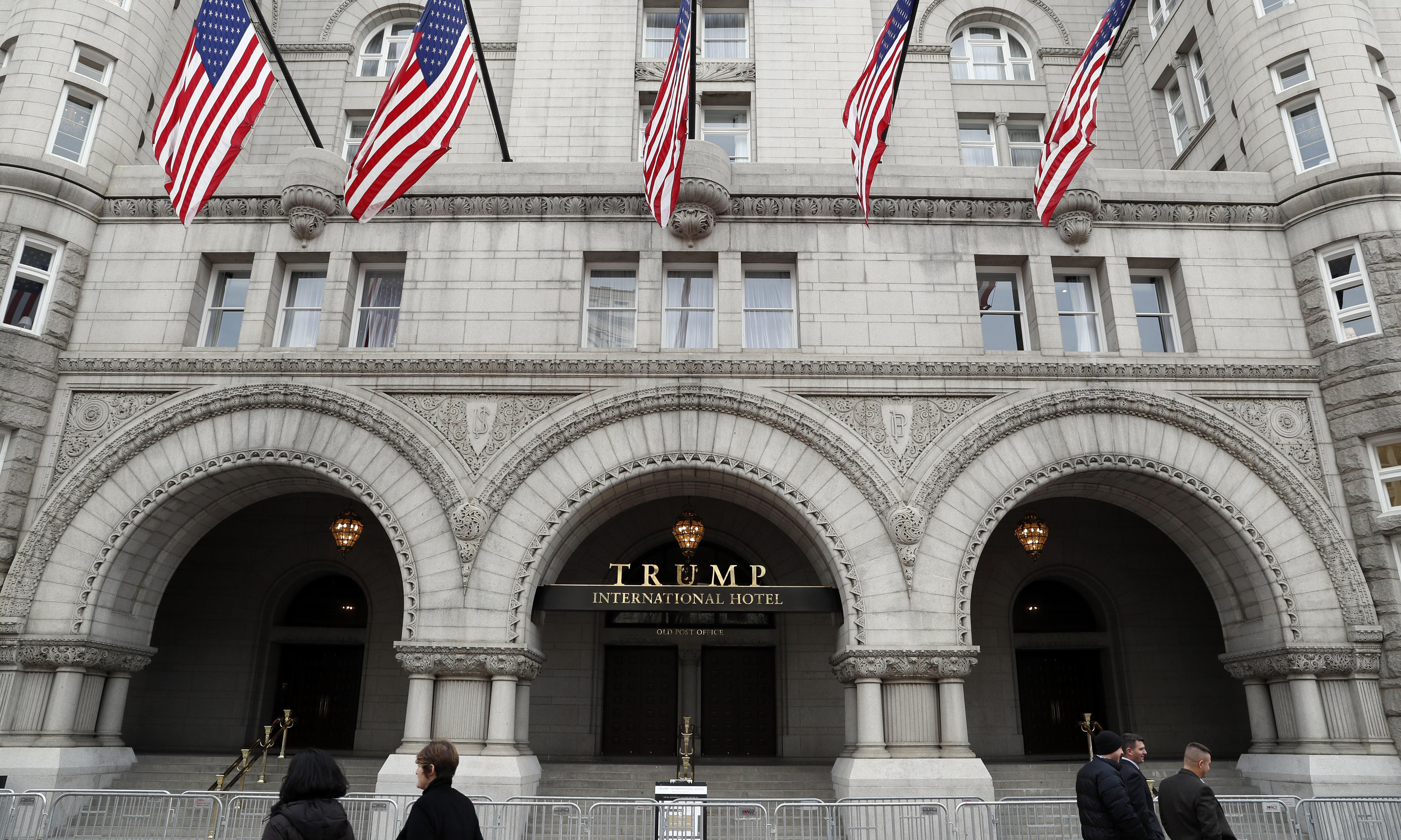 Trump hotels exempted from ban on foreign payments under new stance