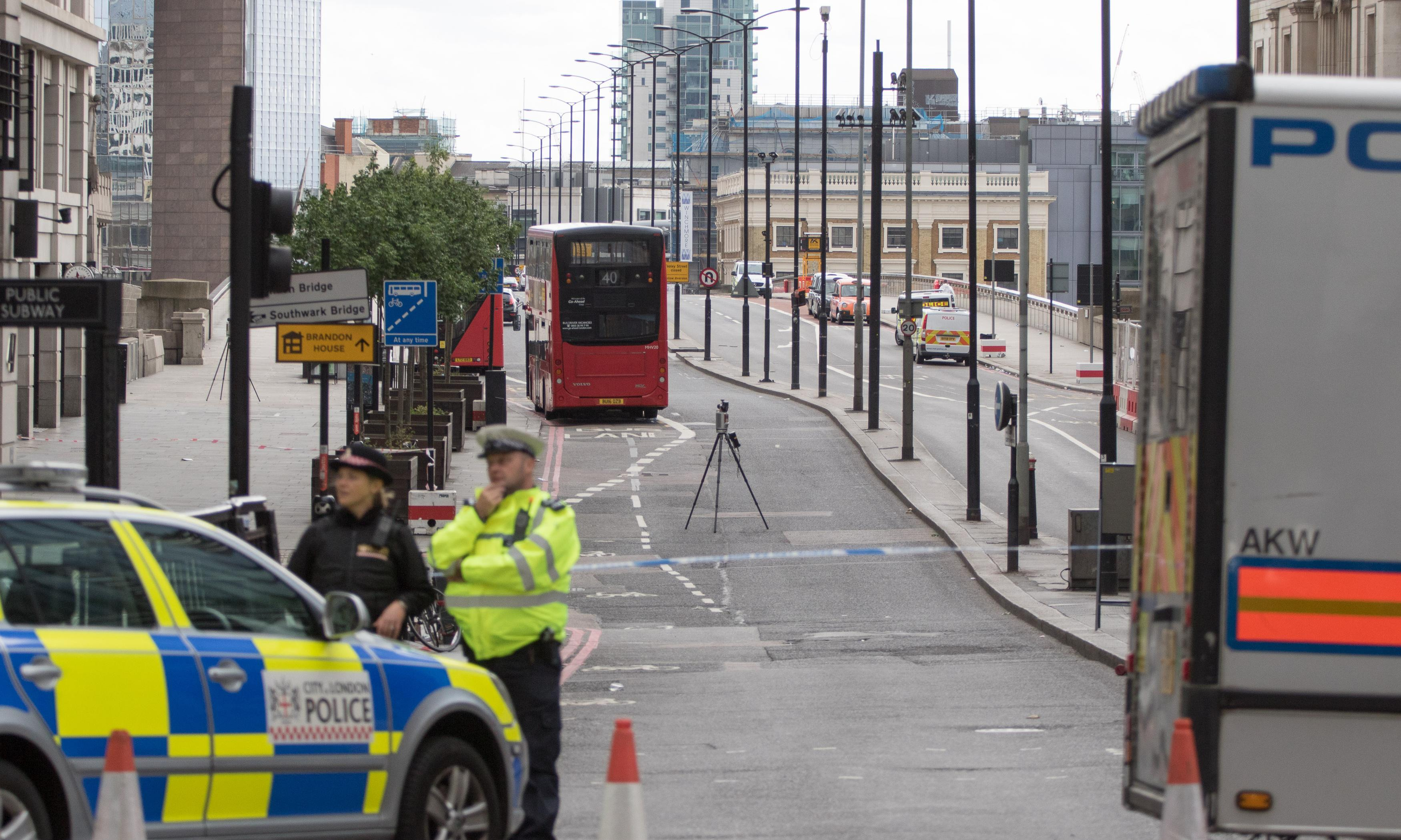London Bridge attack: location 'was crying out' for barriers says QC
