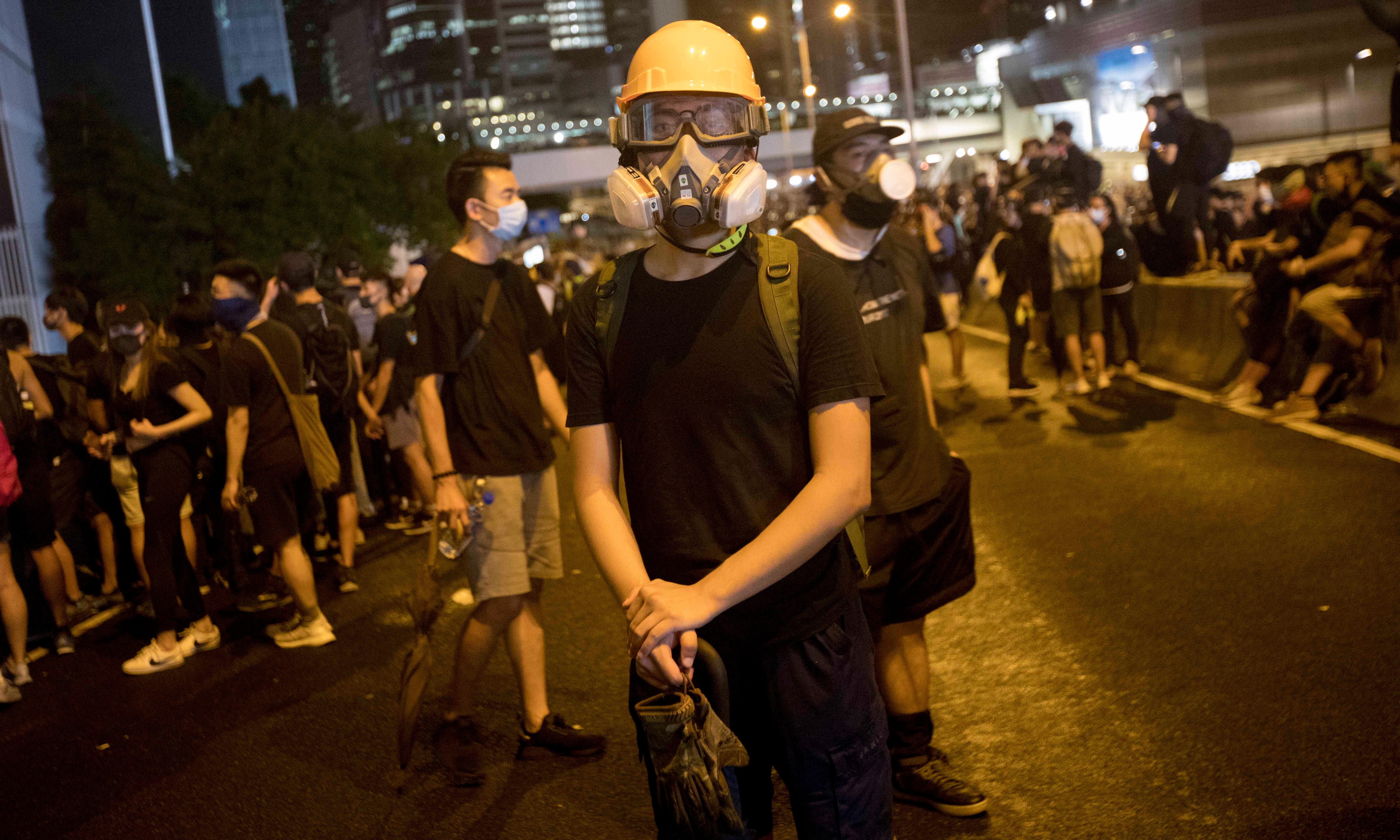 'We must defend our city': A day in the life of a Hong Kong protester