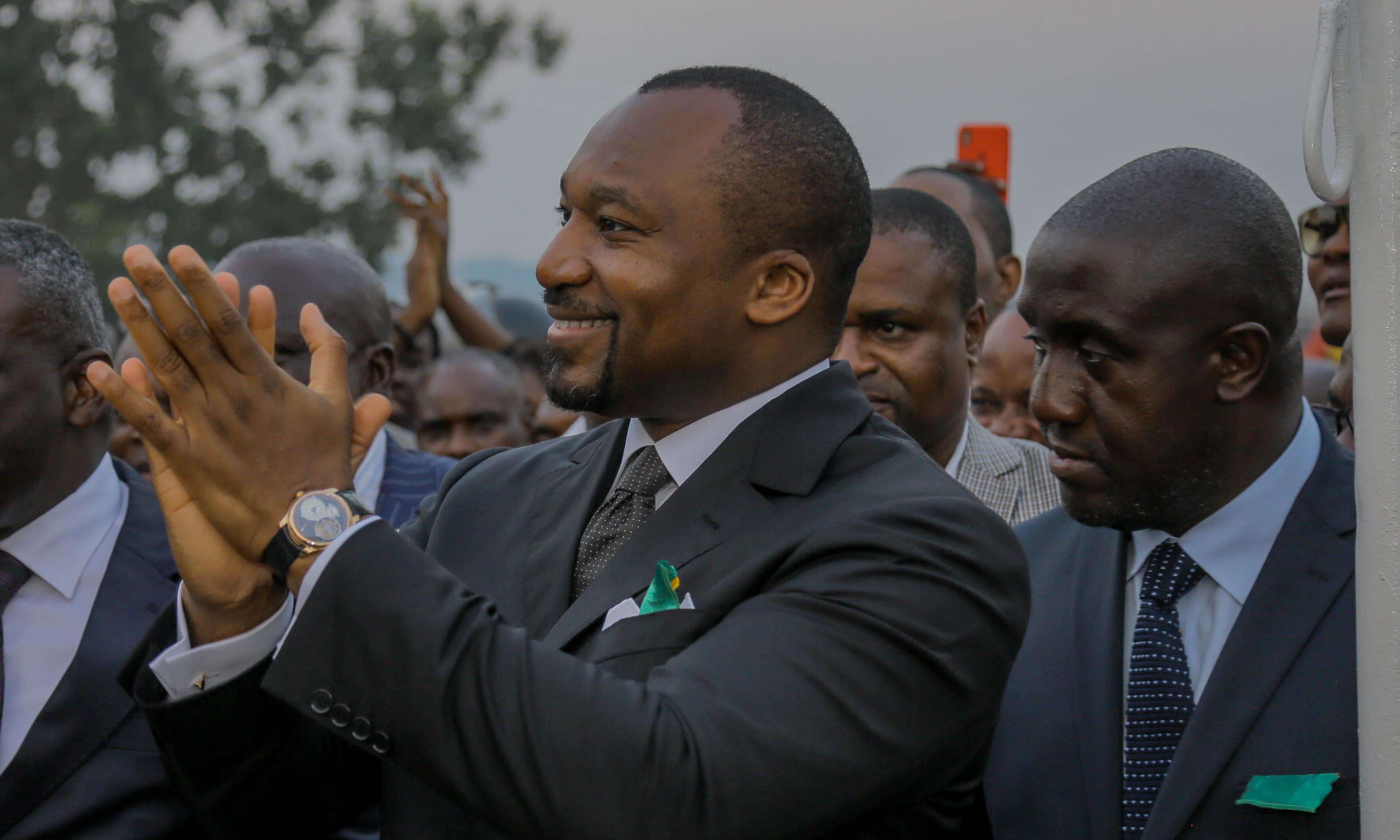 Son of Congo-Brazzaville president accused of siphoning off $50m