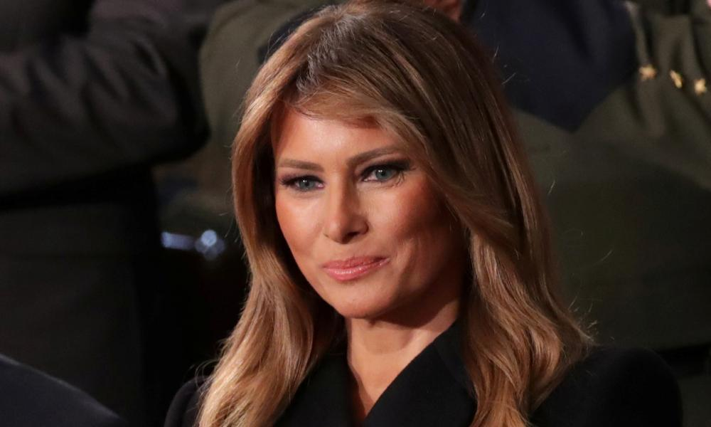 First lady Melania Trump called Carrie Symonds on Thursday.