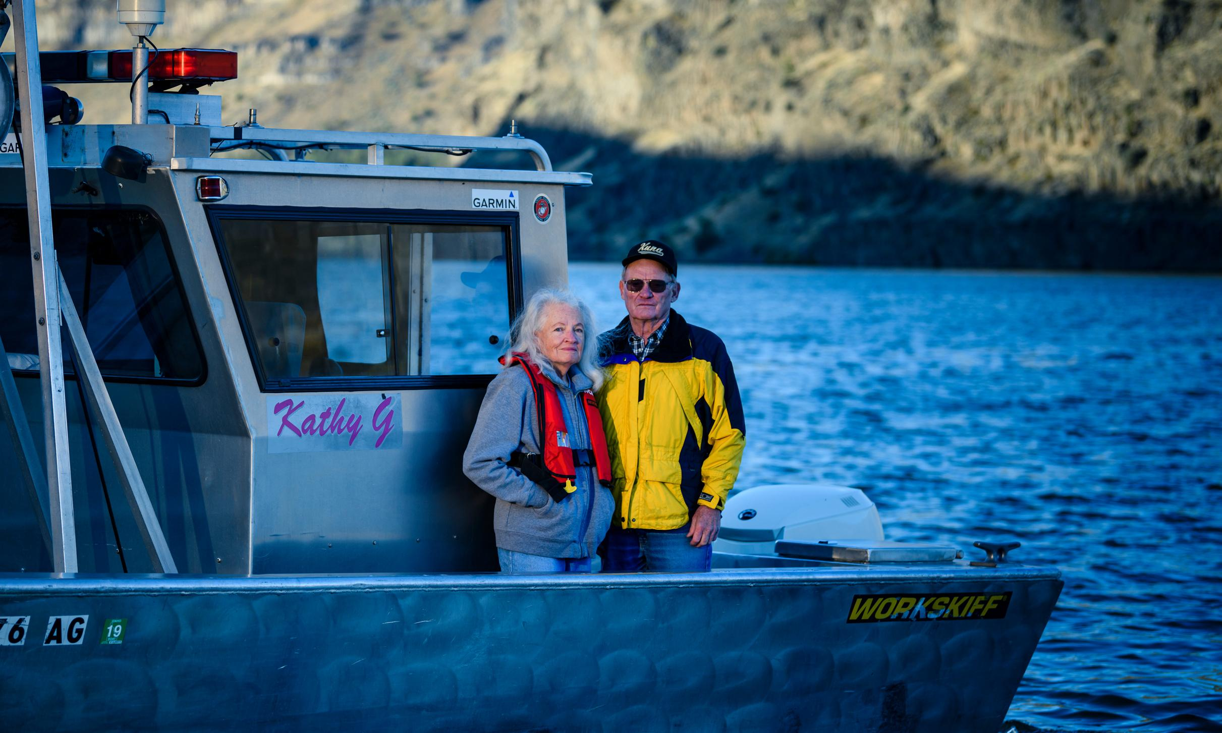 Bring up the bodies: the retired couple who find drowning victims