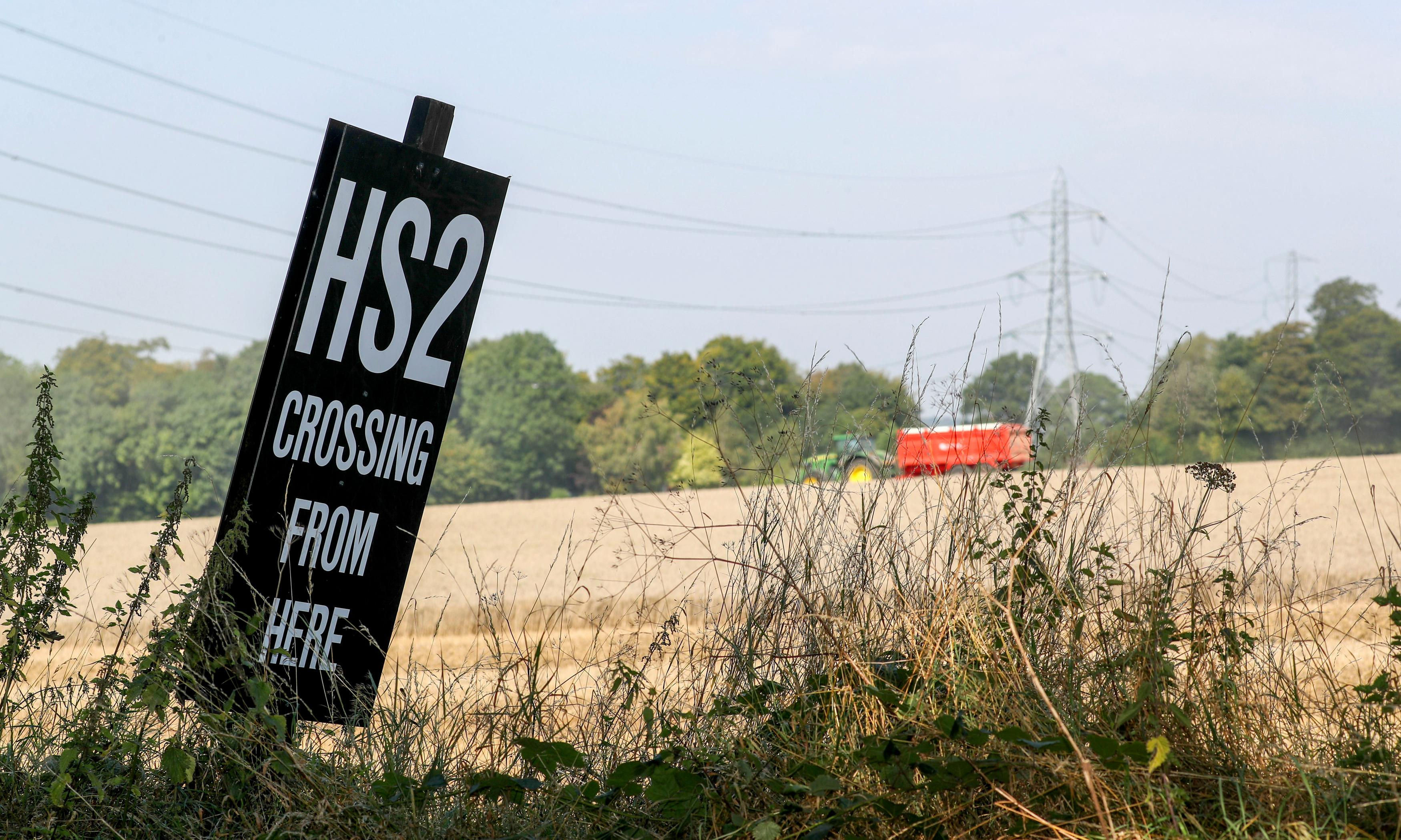 Co-author of leaked HS2 report demands his name is removed