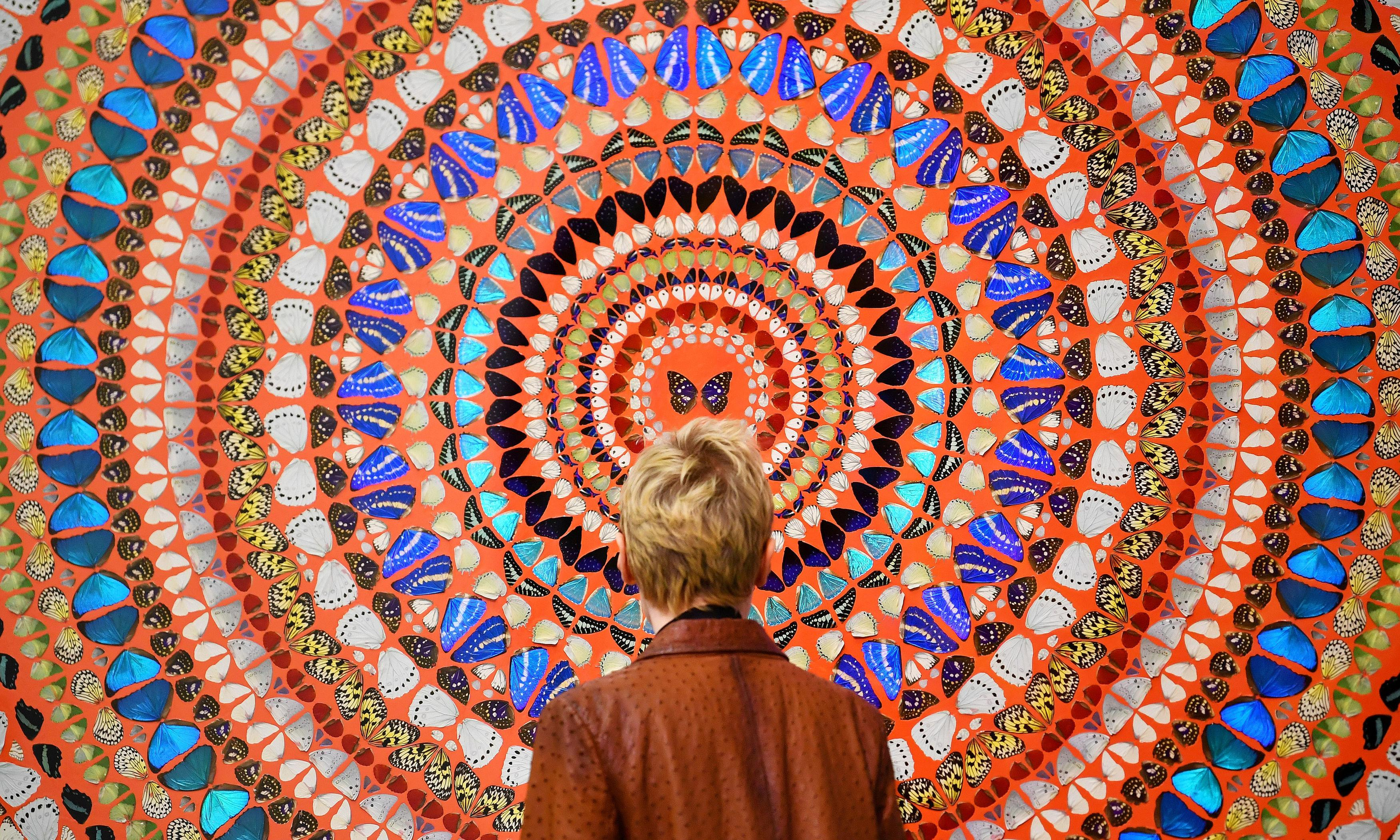 A rebel sharpens her pencil and Hirst spreads his wings – the week in art