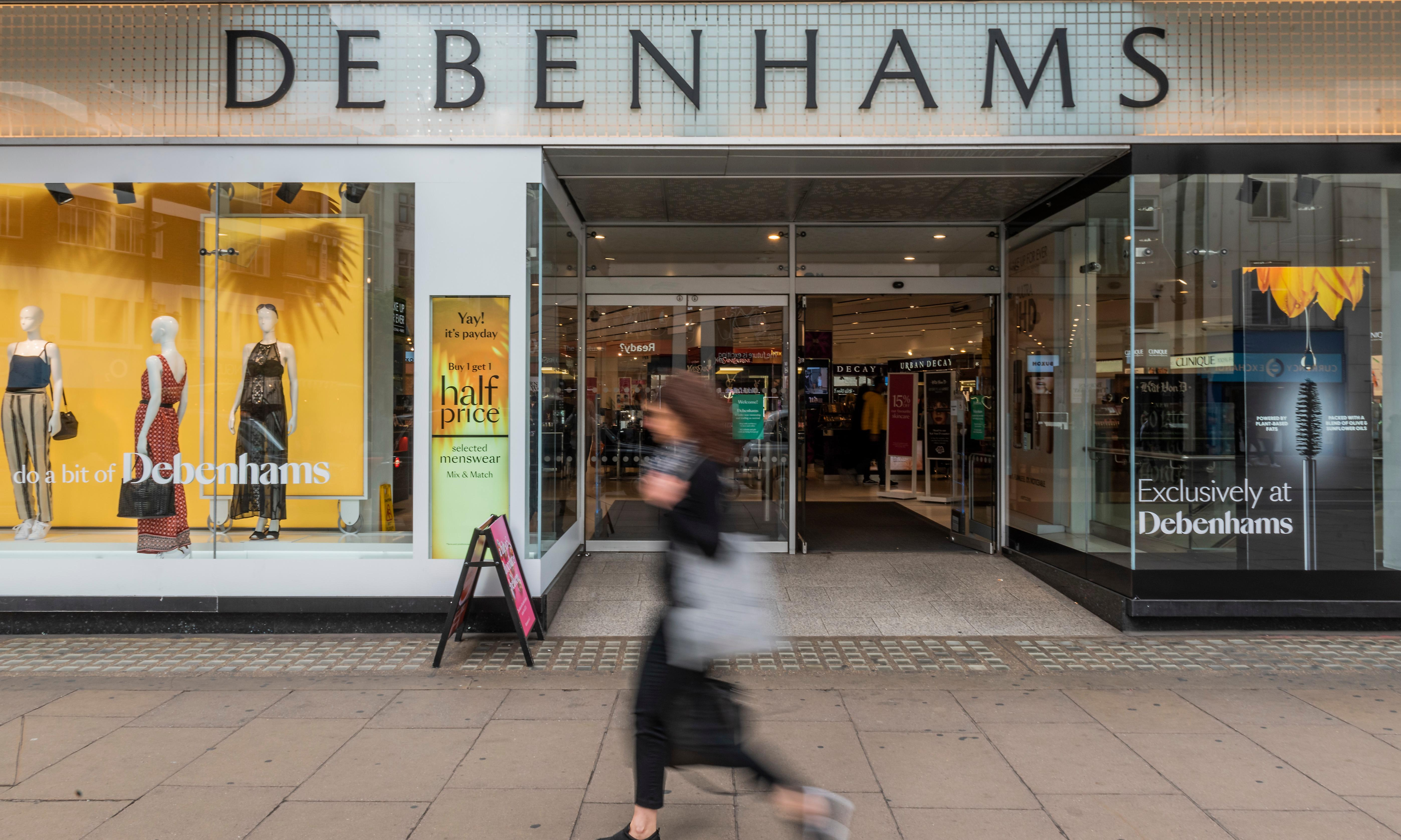 Debenhams set to clash with Mike Ashley's Sports Direct group