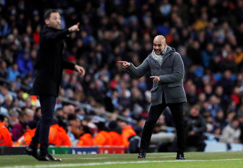 Manchester City manager Pep Guardiola and Schalke coach Domenico Tedesco give some pointers.