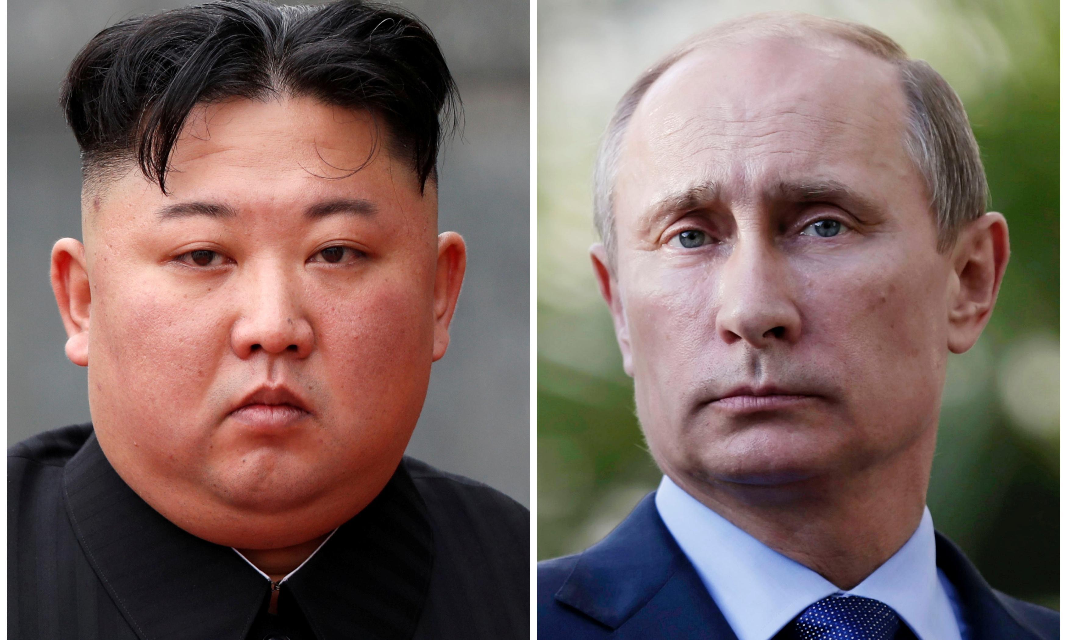 Vladimir Putin to meet Kim Jong-un on Thursday for first time