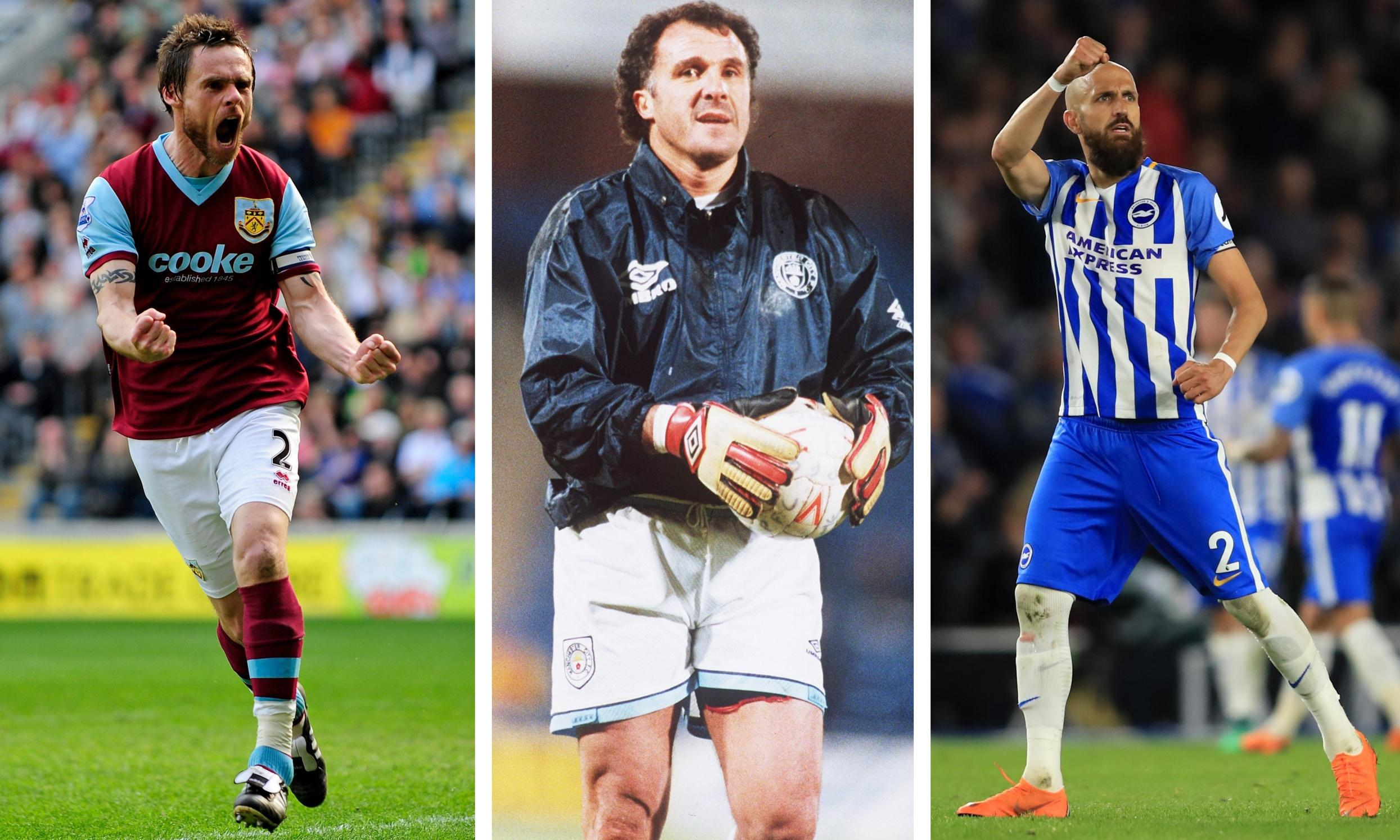 Who is the oldest footballer to make their debut in a top-flight division?