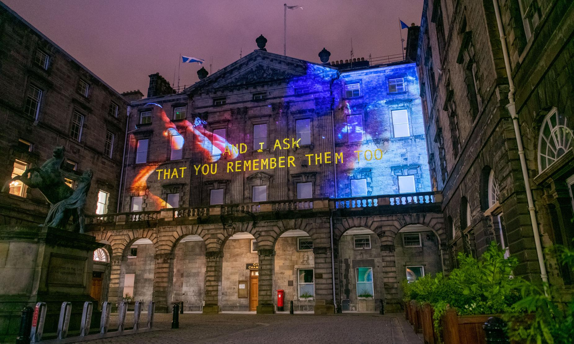 Message from the Skies review – Edinburgh's heritage illuminated
