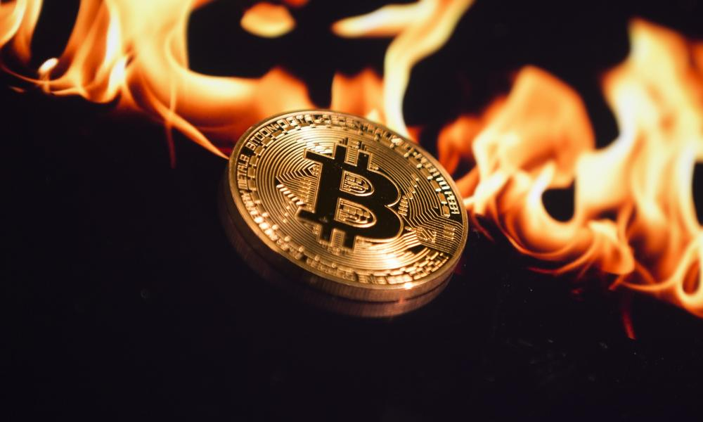 Bitcoin aflame