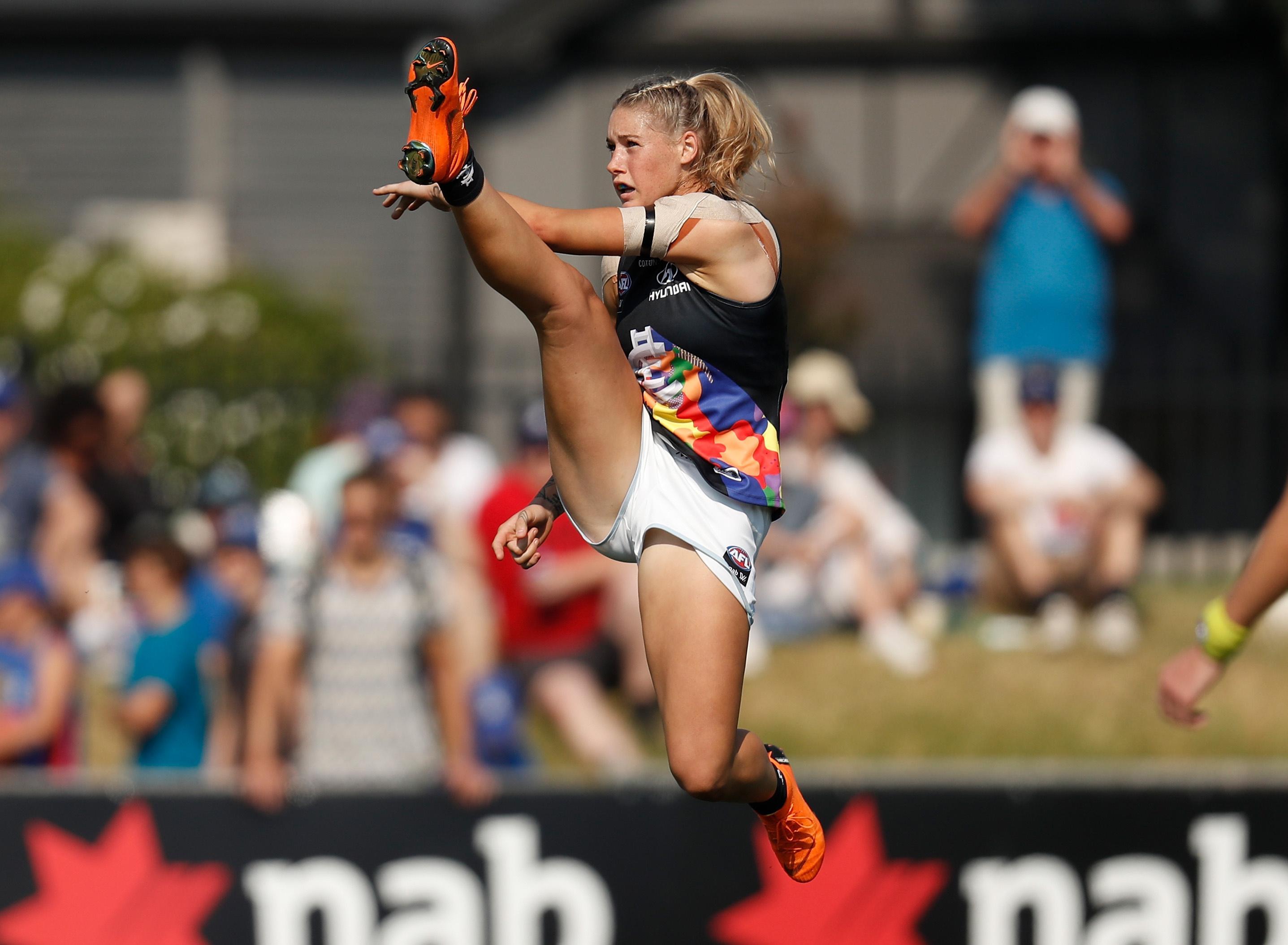 Tayla Harris photo nominated for inaugural women's sport award