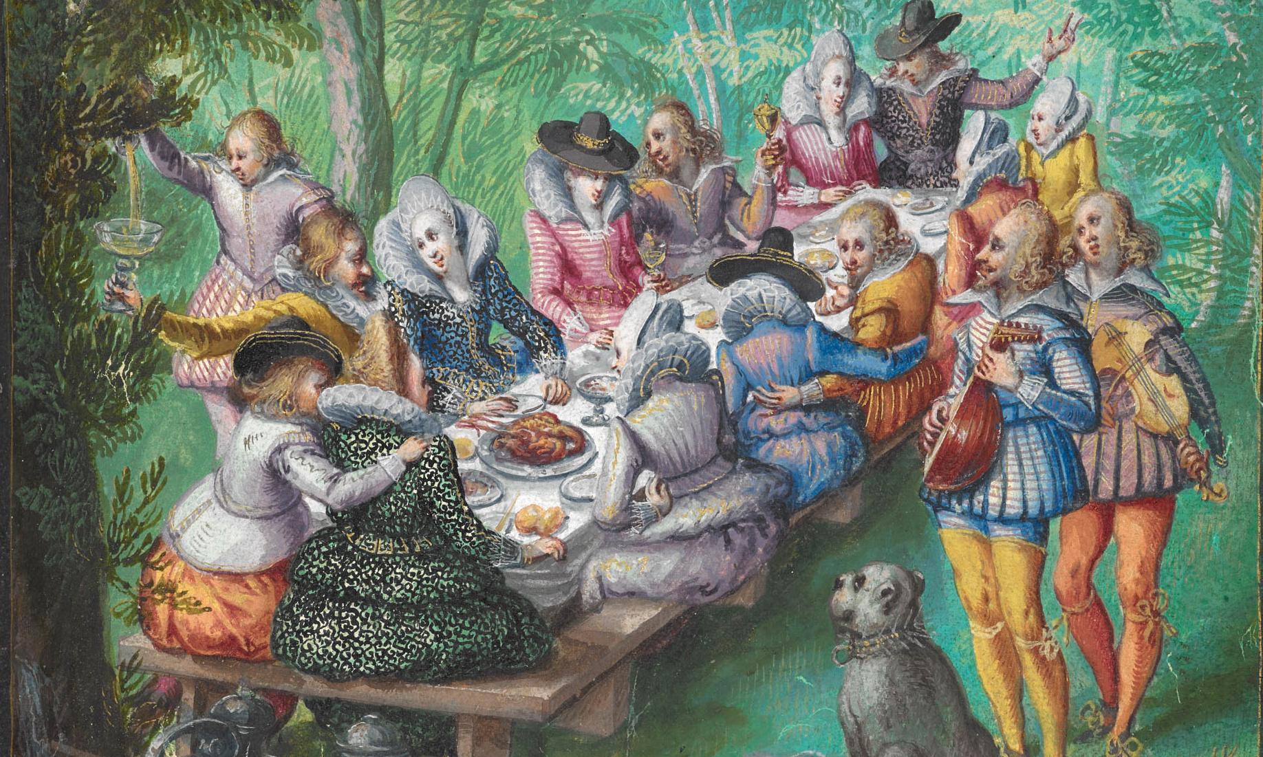 Alba amicorum: the original Facebook for Renaissance teens?