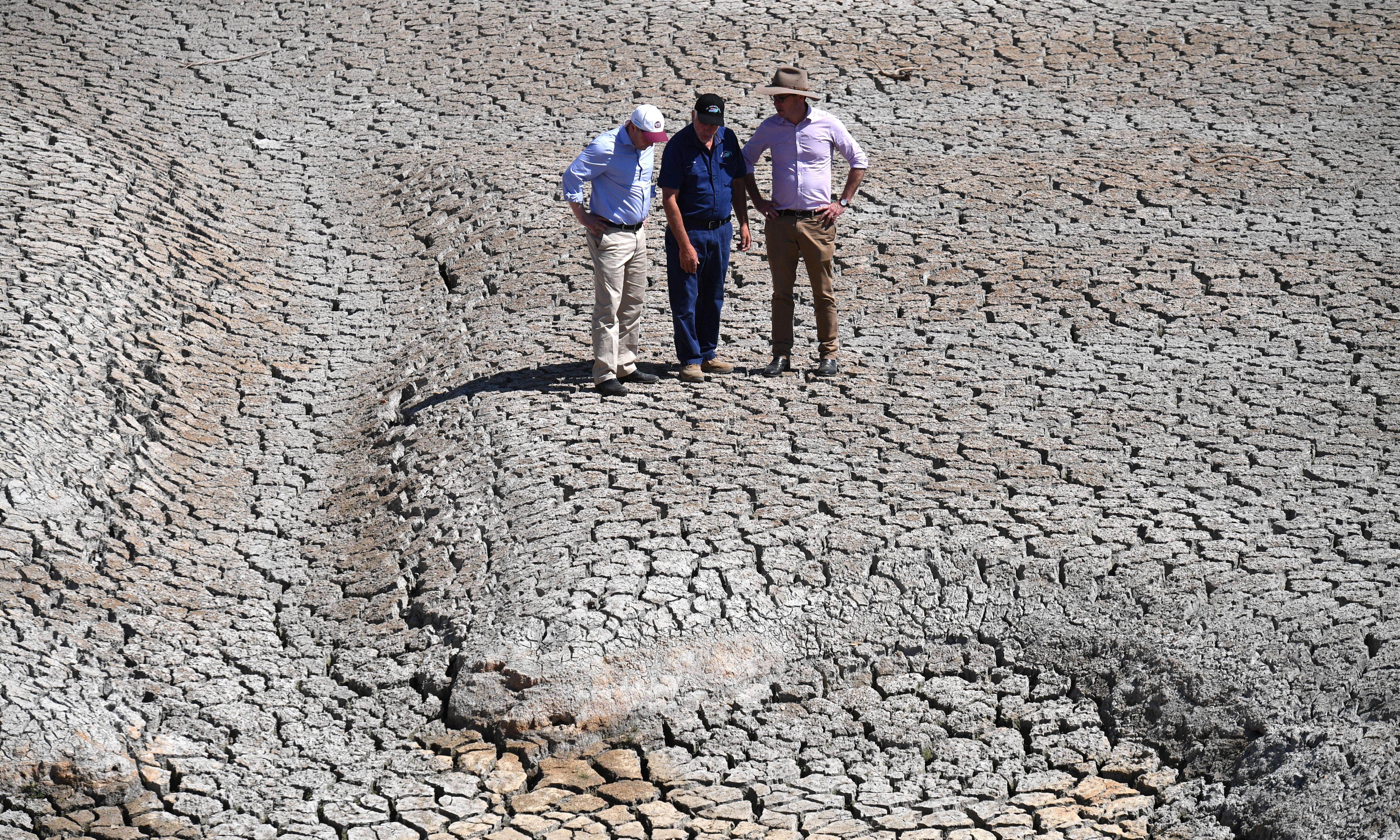 Water resources minister 'totally' accepts drought linked to climate change